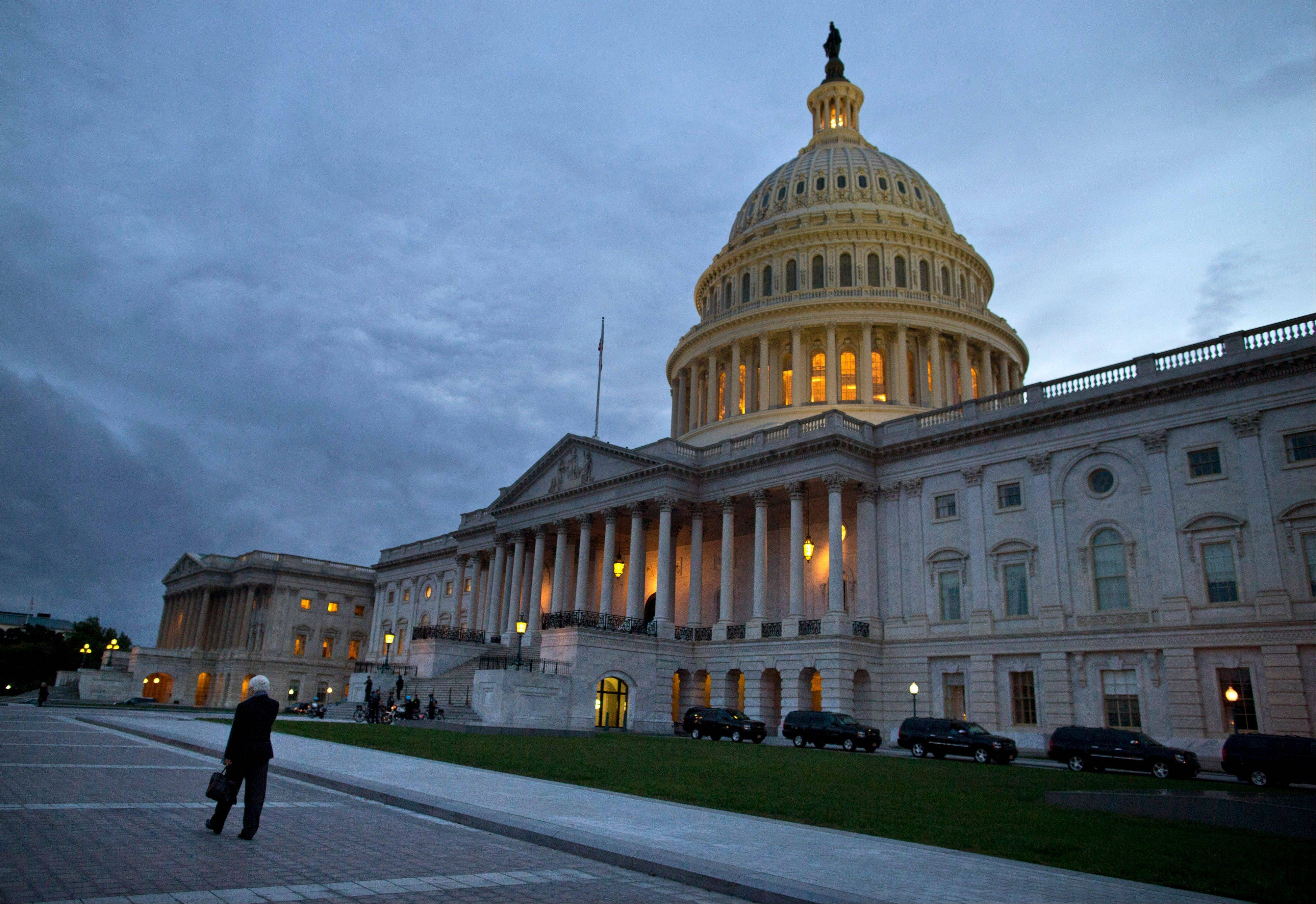 Even if Congress reaches a last-minute or deadline-busting deal to avert a federal default and fully reopen the government, elected officials are likely to return to their grinding brand of brinkmanship, perhaps repeatedly. House-Senate talks are barely touching the underlying causes of debt-and-spending stalemates that pushed the country close to economic crises in 2011, last December and again this month.