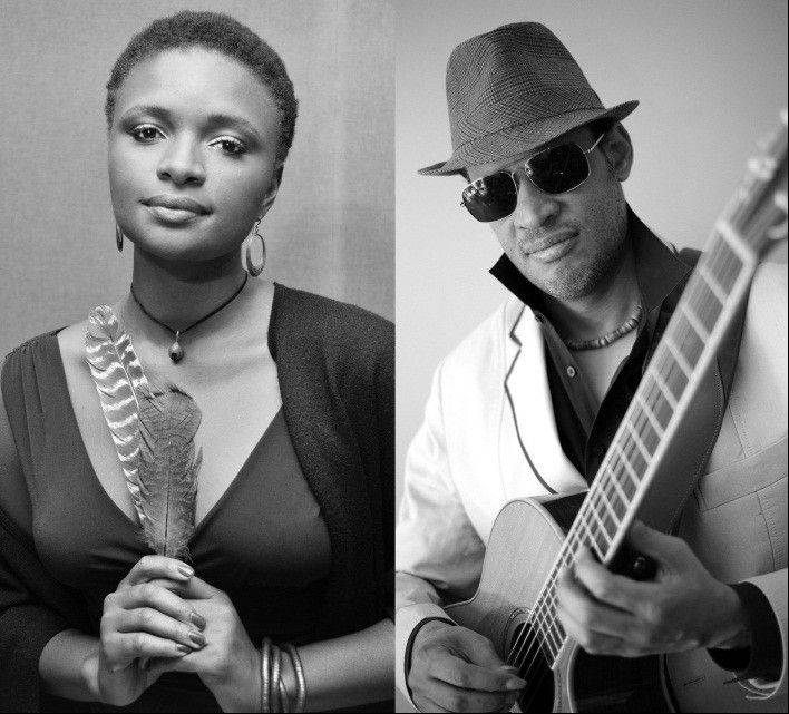 Songwriters Lizz Wright and Raul Midon join forces for a night of jazz, R&B, soul and gospel on Saturday, Oct. 26, at Elgin Community College. For information, visit elgin.edu.arts.