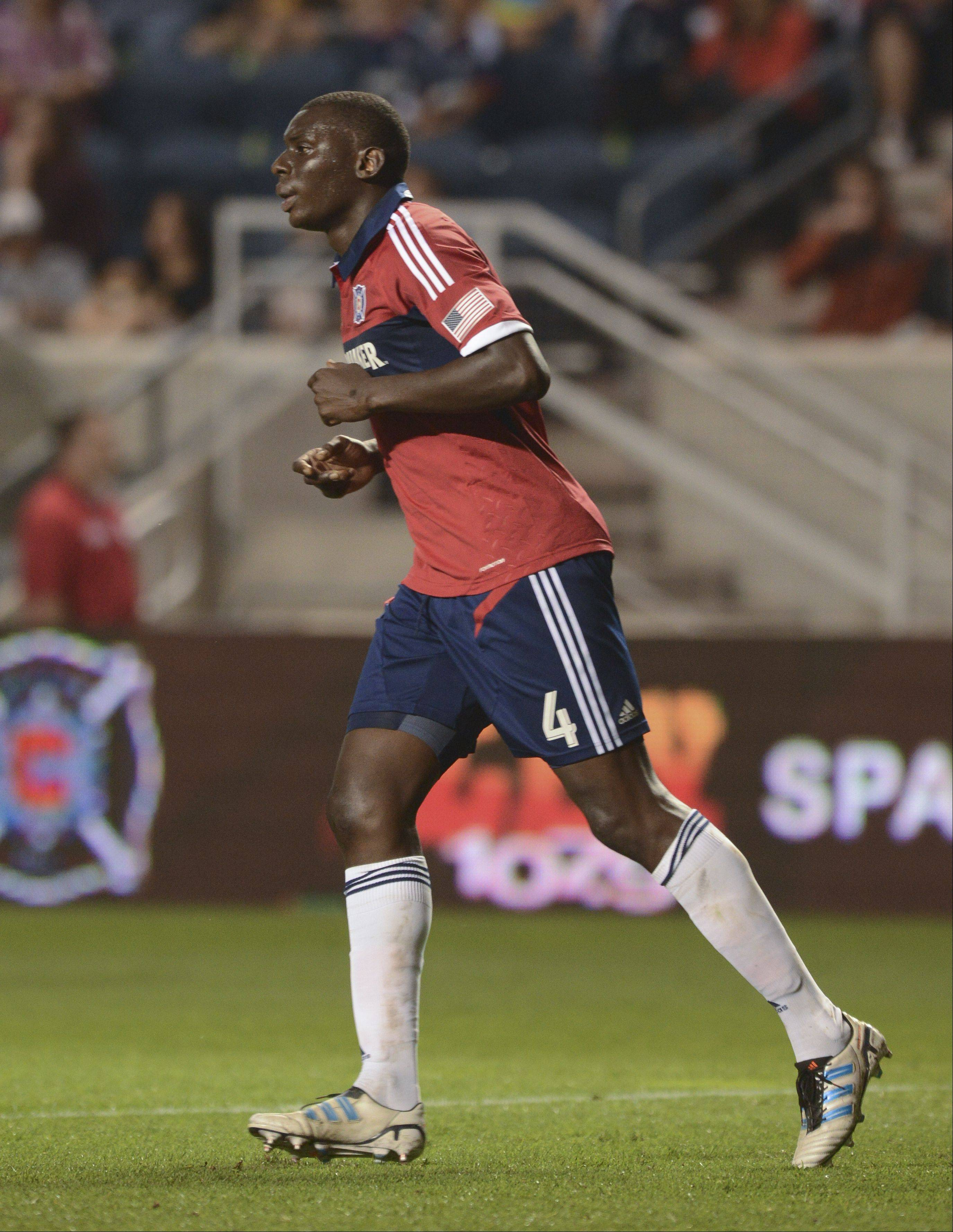 Bakary Soumare can help the Chicago Fire clinch a playoff berth this weekend � if some other games also fall into place.