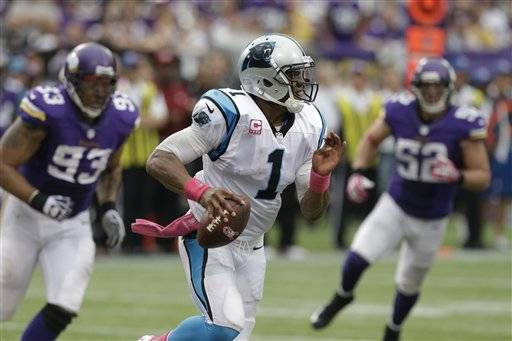 Panthers quarterback Cam Newton has made life tough on fantasy football owners with inconsistent performances in his last three games.