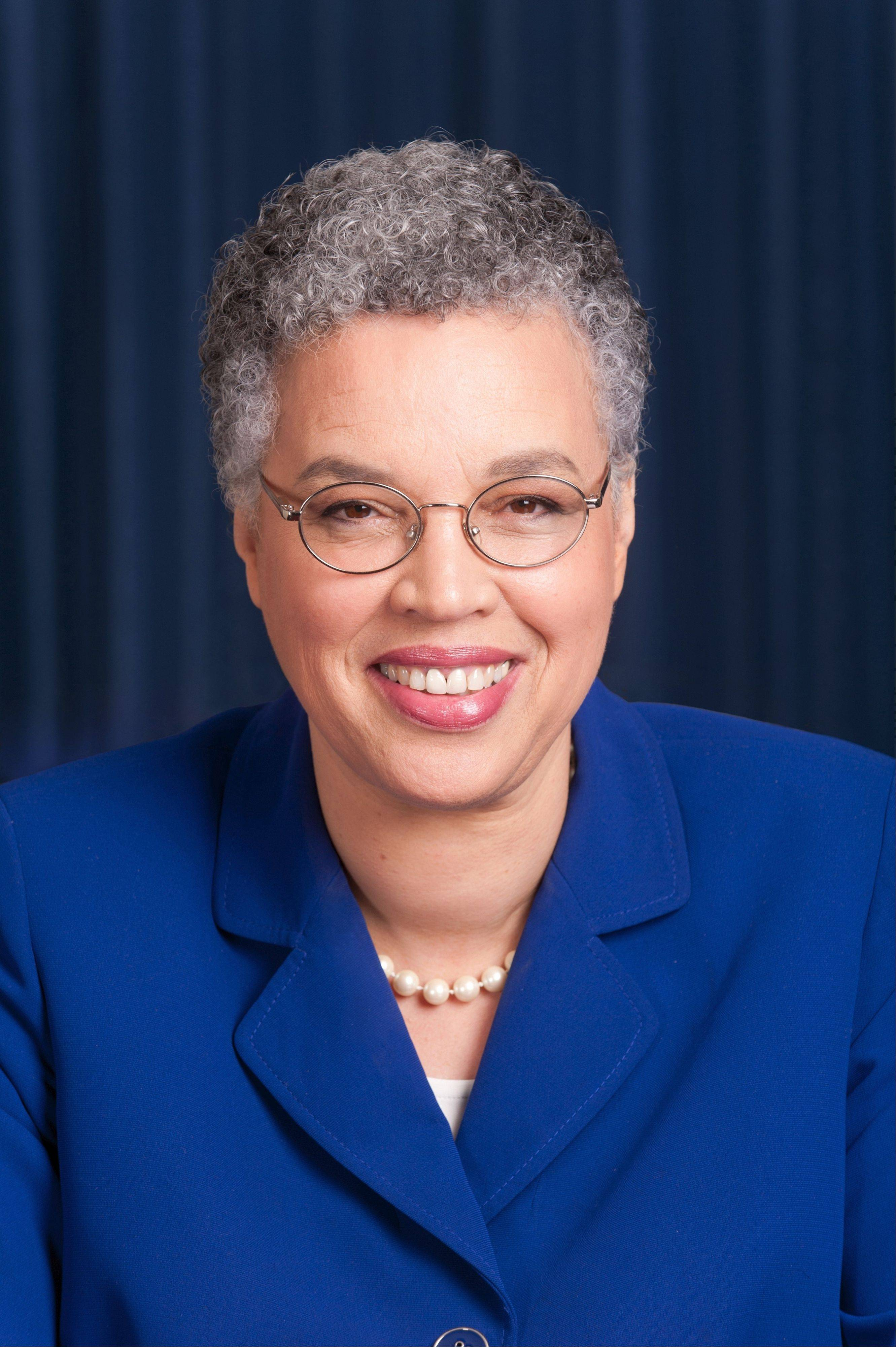 Toni Preckwinkle, Cook County Board President