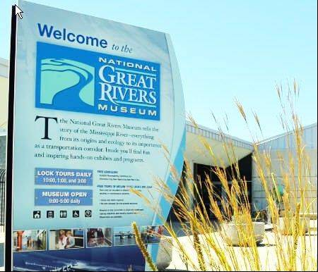 The National Great Rivers Museum in Alton is among facilities reopening.