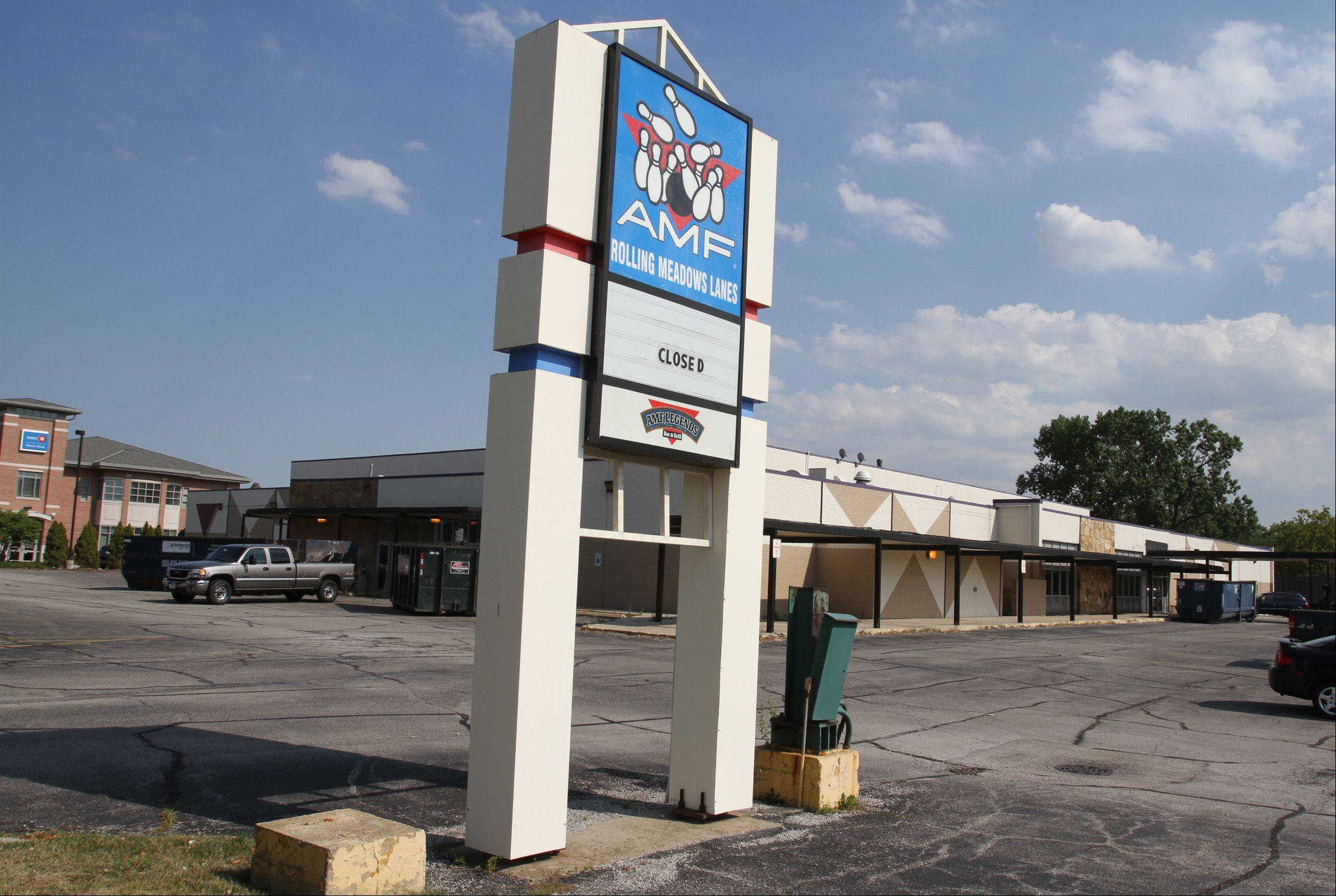 A Walmart Neighborhood Market grocery store is planned for the site of the AMF Rolling Meadows Lanes bowling alley, which closed in July 2012.