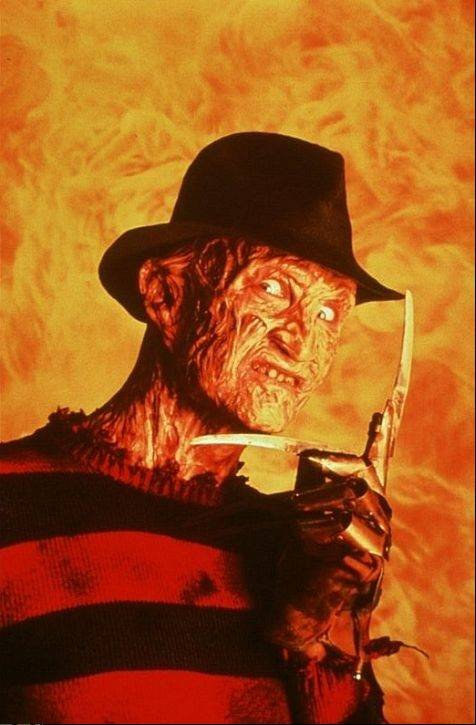 "Actor Robert Englund, better known as Freddy Krueger, hosts the original ""Nightmare on Elm Street"" at Woodridge's Hollywood Blvd. and Naperville's Hollywood Palms theater."