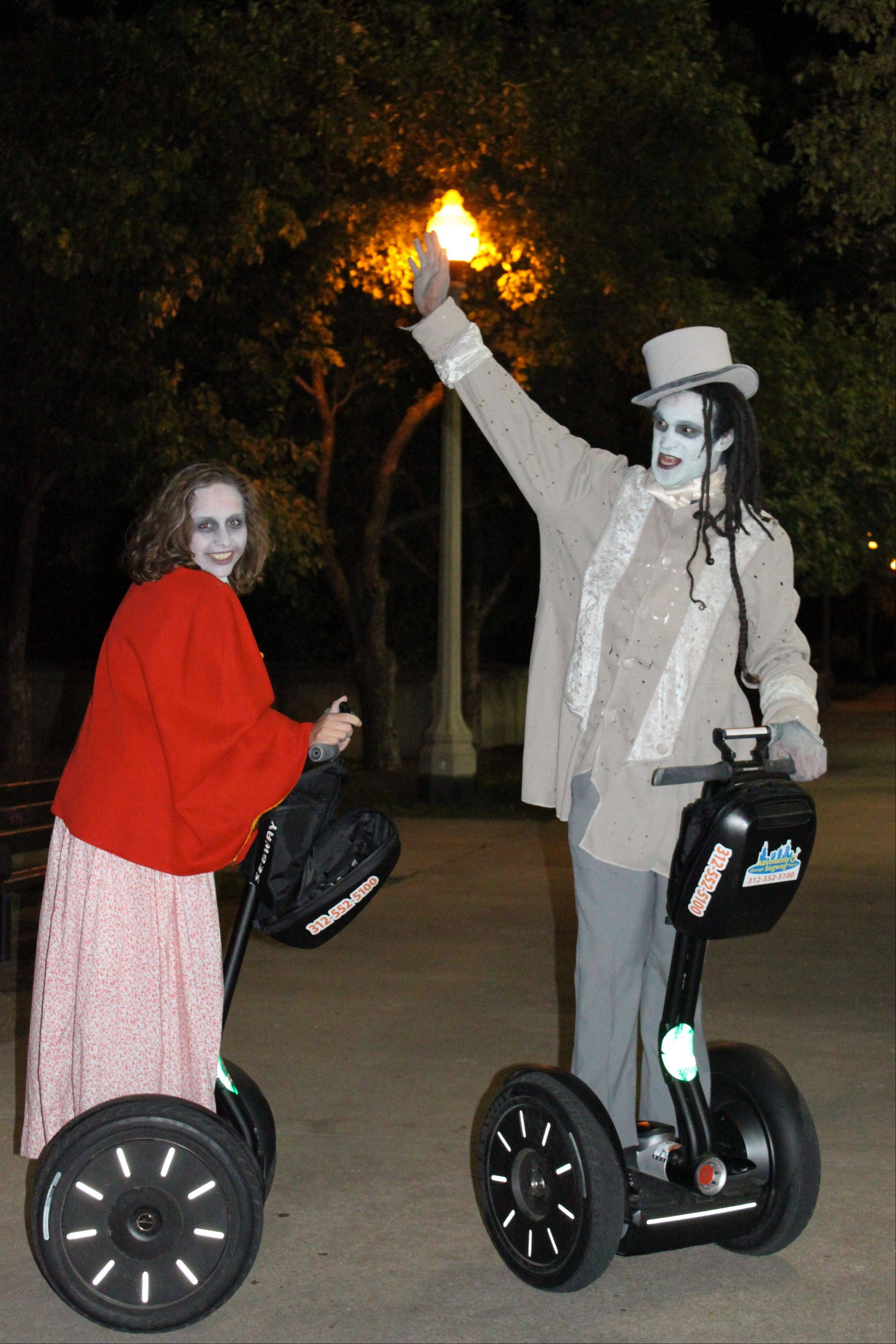 Absolutely Chicago Segway Tours' Haunted Tours offers up a high-tech way to find out about ghost stories.