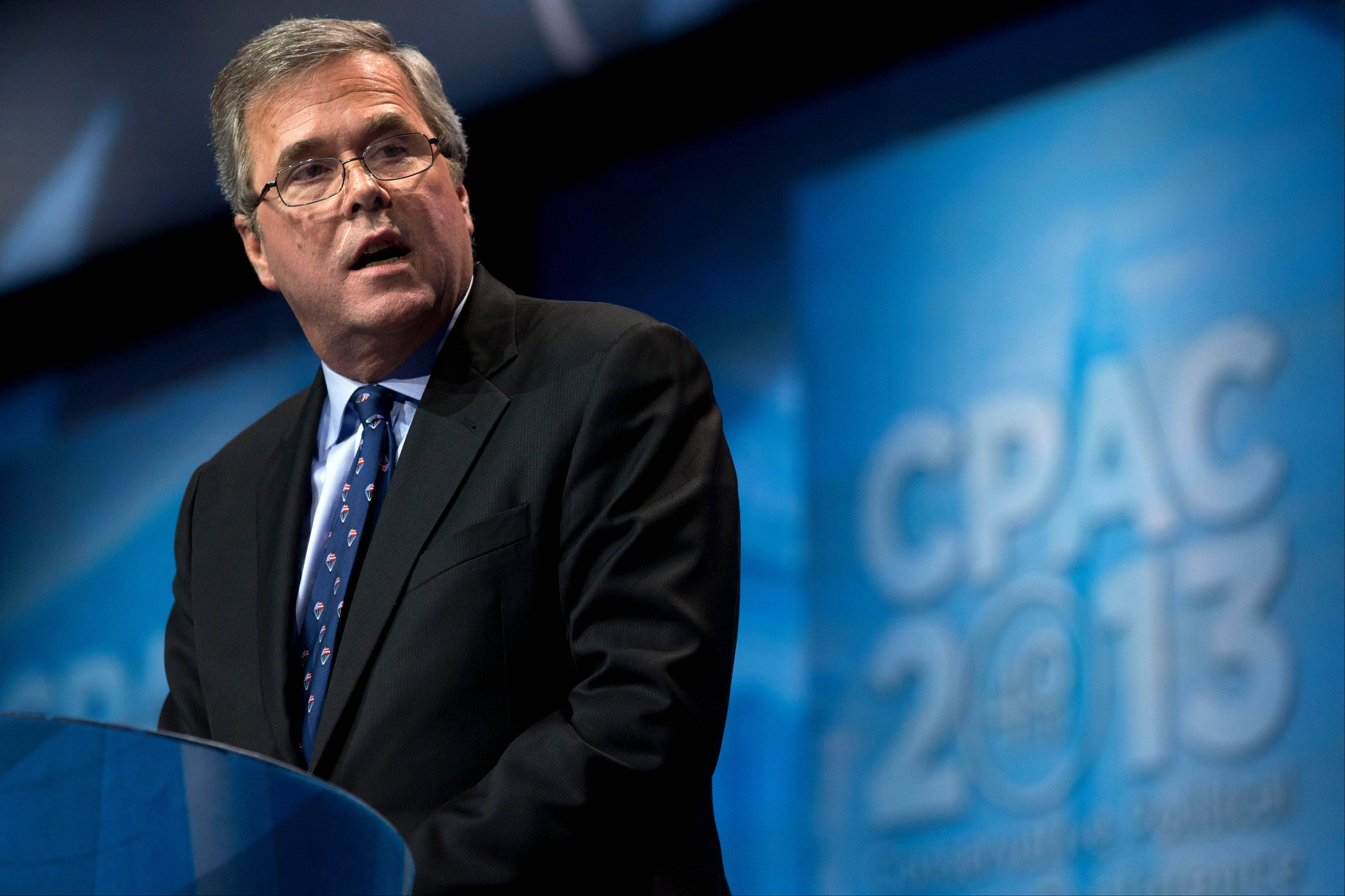 "Former Florida Gov. Jeb Bush says congressional Republicans represent ""the mirror opposite"" of the successes of GOP governors outside the capital."