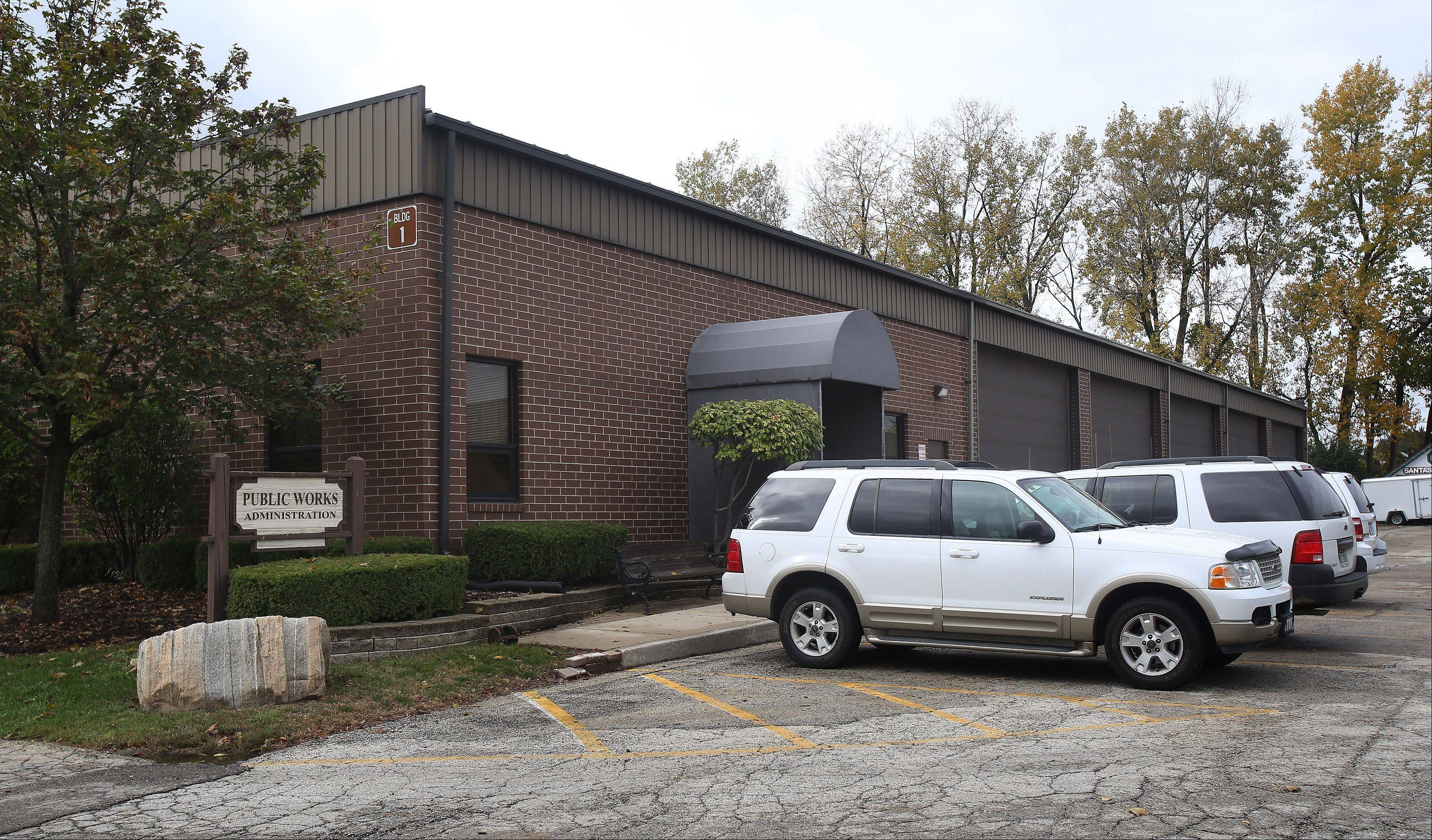 Mundelein's main public works office at 440 E. Crystal St. is one of three separate public works facilities the village plans to consolidate at a single site.
