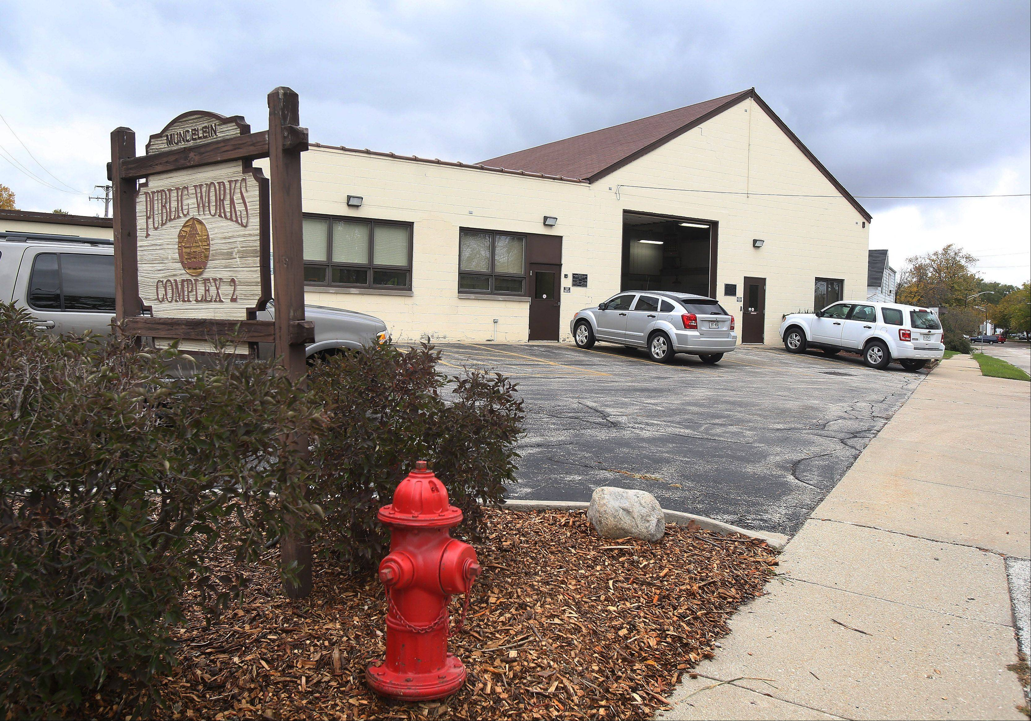 The village of Mundelein's water division headquarters at 428 N. Chicago Ave. is one of three separate public works facilities the village plans to consolidate at a single site on Allanson Road.