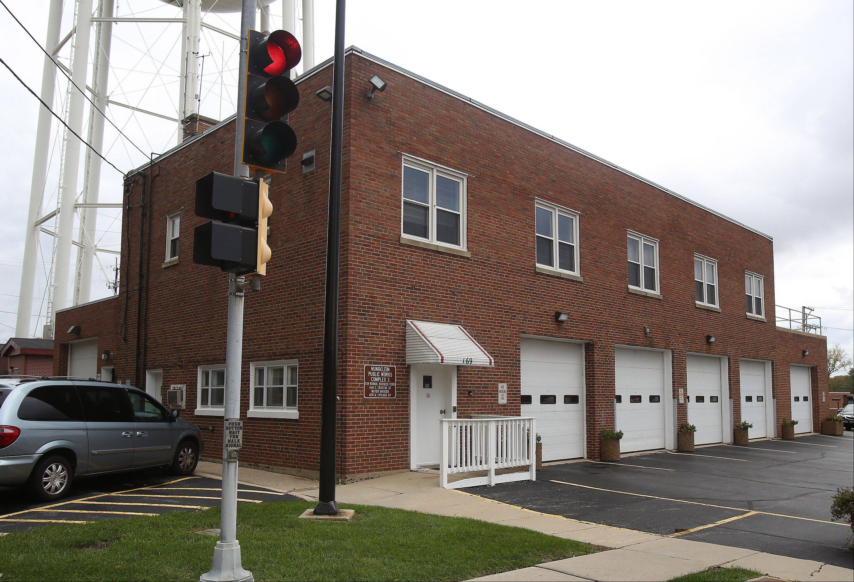 Mundelein's public works department facility maintenance center at 169 N. Seymour Ave. is another facility the village plans to consolidate.