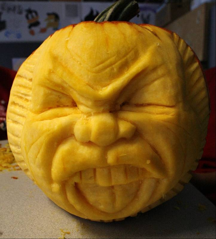 Poll vault when s the last time you carved a pumpkin