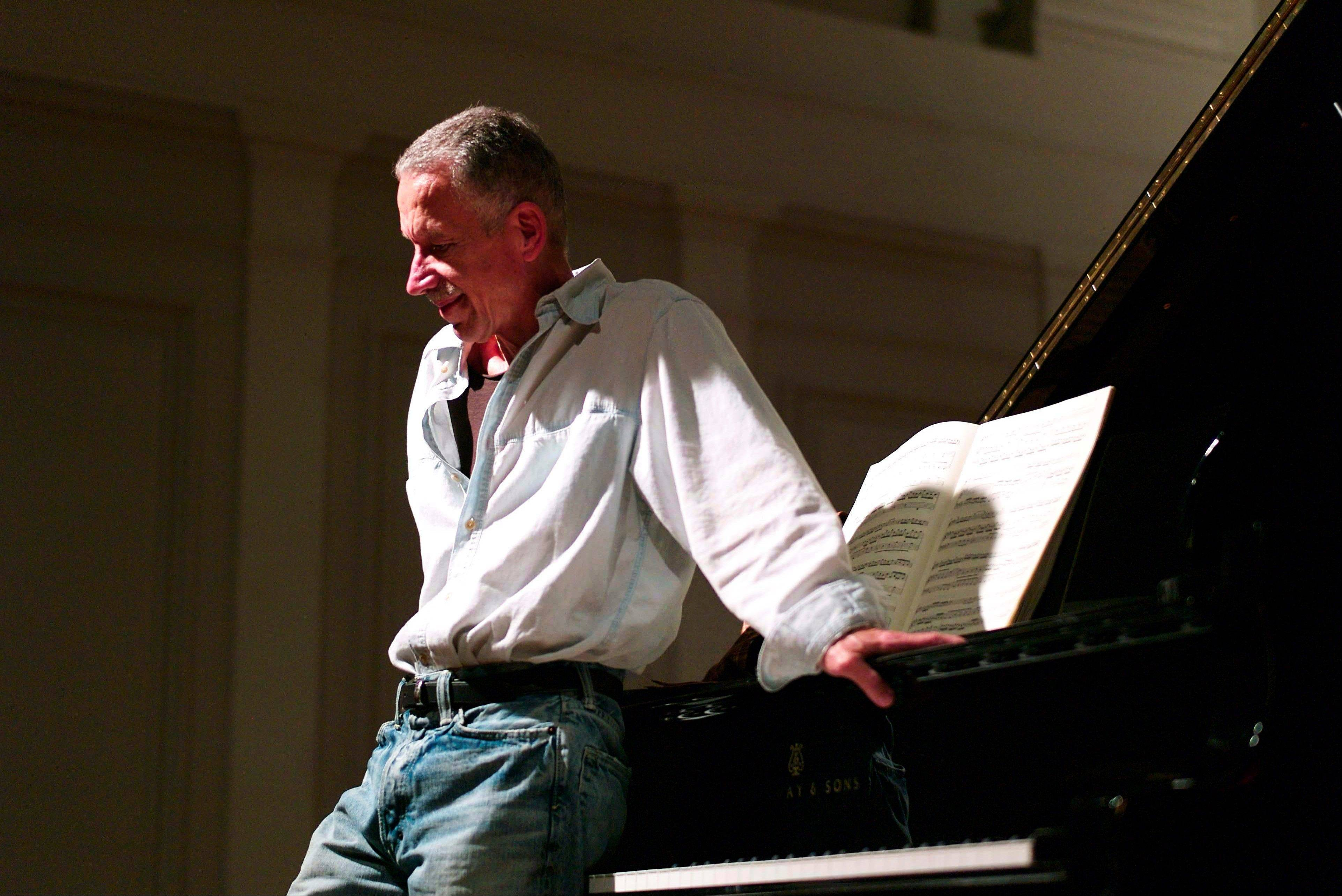 Keith Jarrett performs at the American Academy of Arts and Letters in New York. �Everybody has a limited lifespan and I wanted to use mine intelligently,� the 68-year-old Jarrett said. �I felt that if I had been called to do anything it was to make music.�