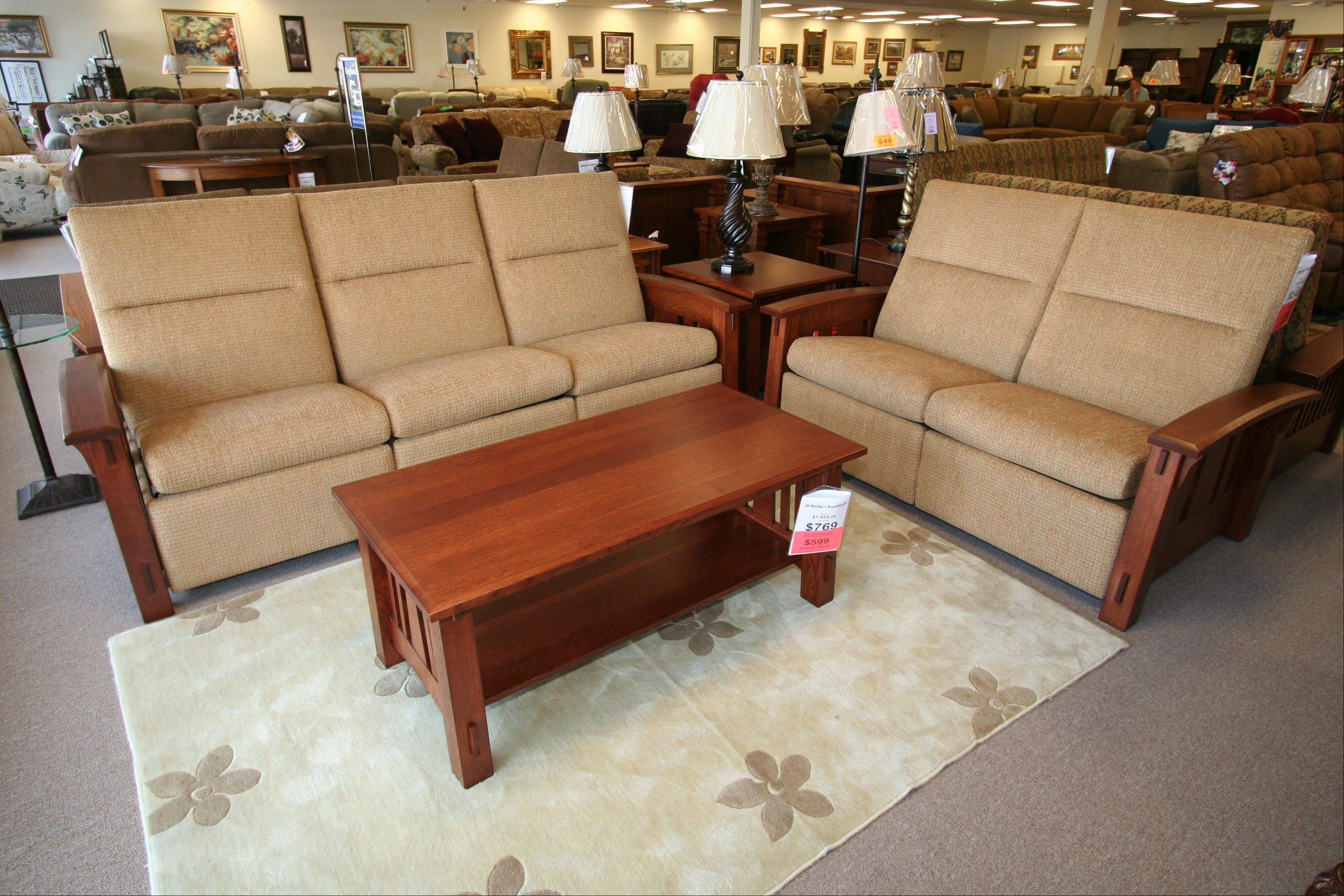 This summer O'Reilly's Furniture opened a new store and showroom in Libertyville.