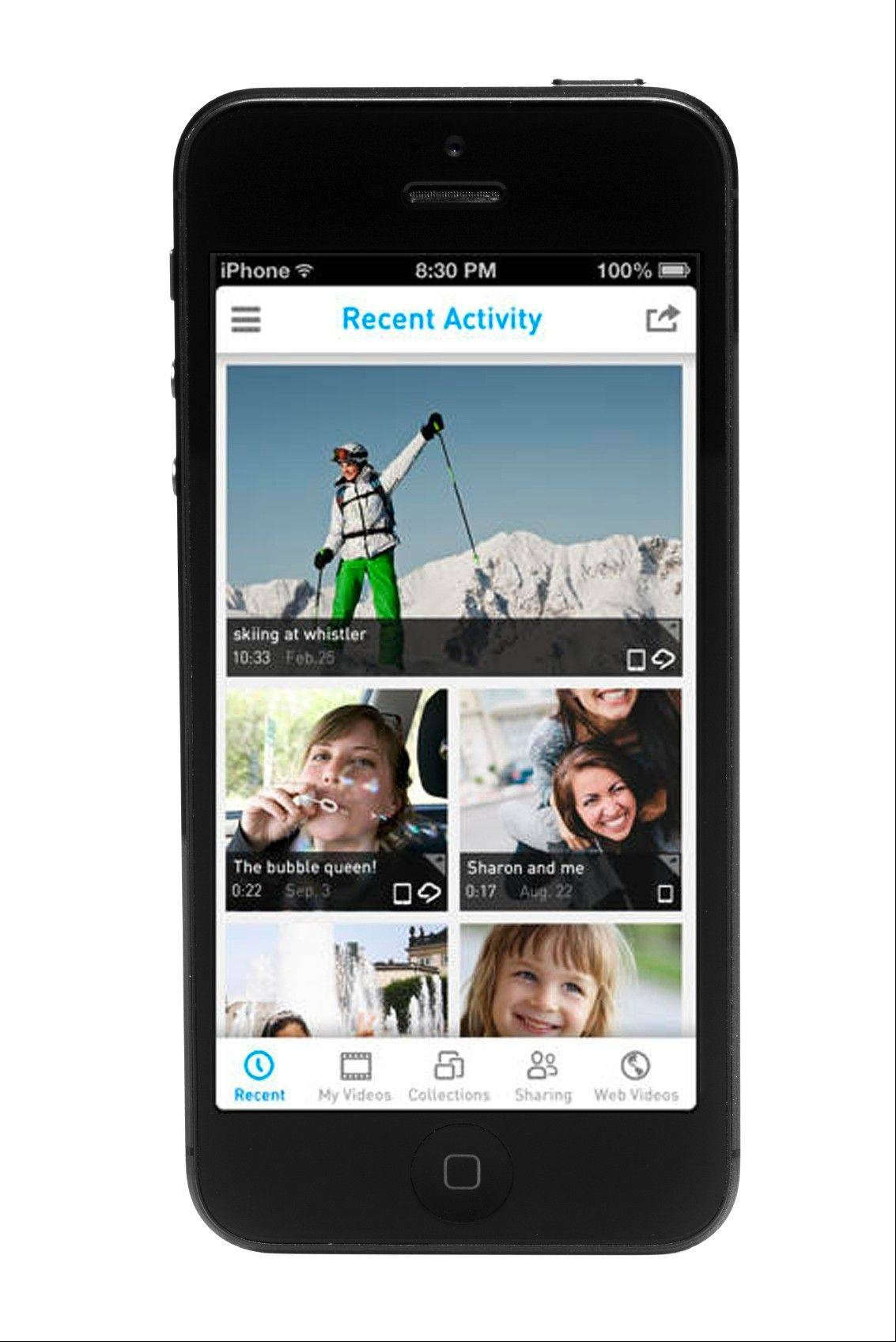 The RealPlayer Cloud app makes it easy to store and share video across multiple platforms.