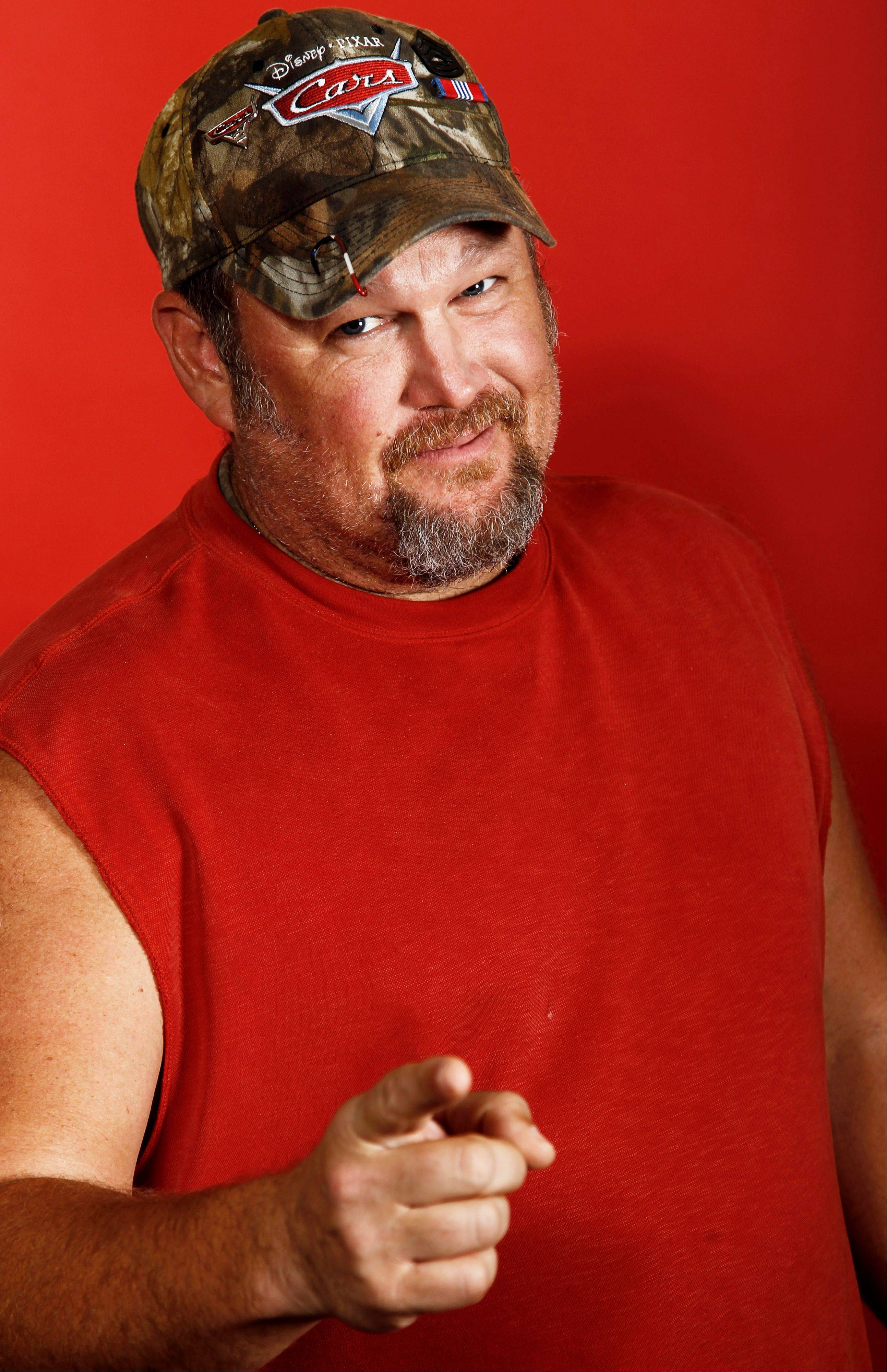 Actor Dan Whitney, also known as Larry the Cable Guy, performs two comedy shows at the Paramount Theatre in Aurora on Saturday, Oct. 19.