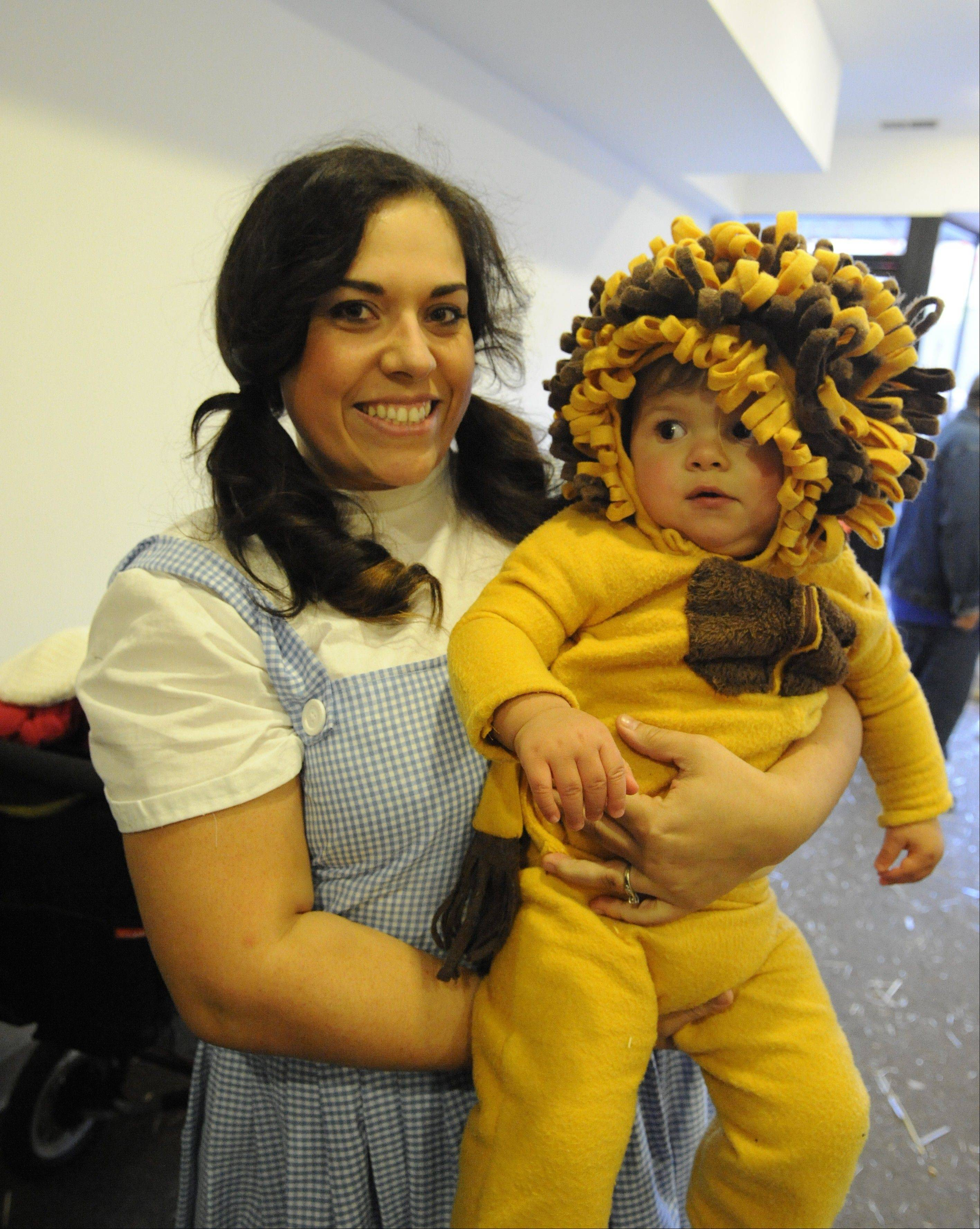 Parents and kids get in on all the seasonal action at Clark Street Spooktacular on Oct. 26.