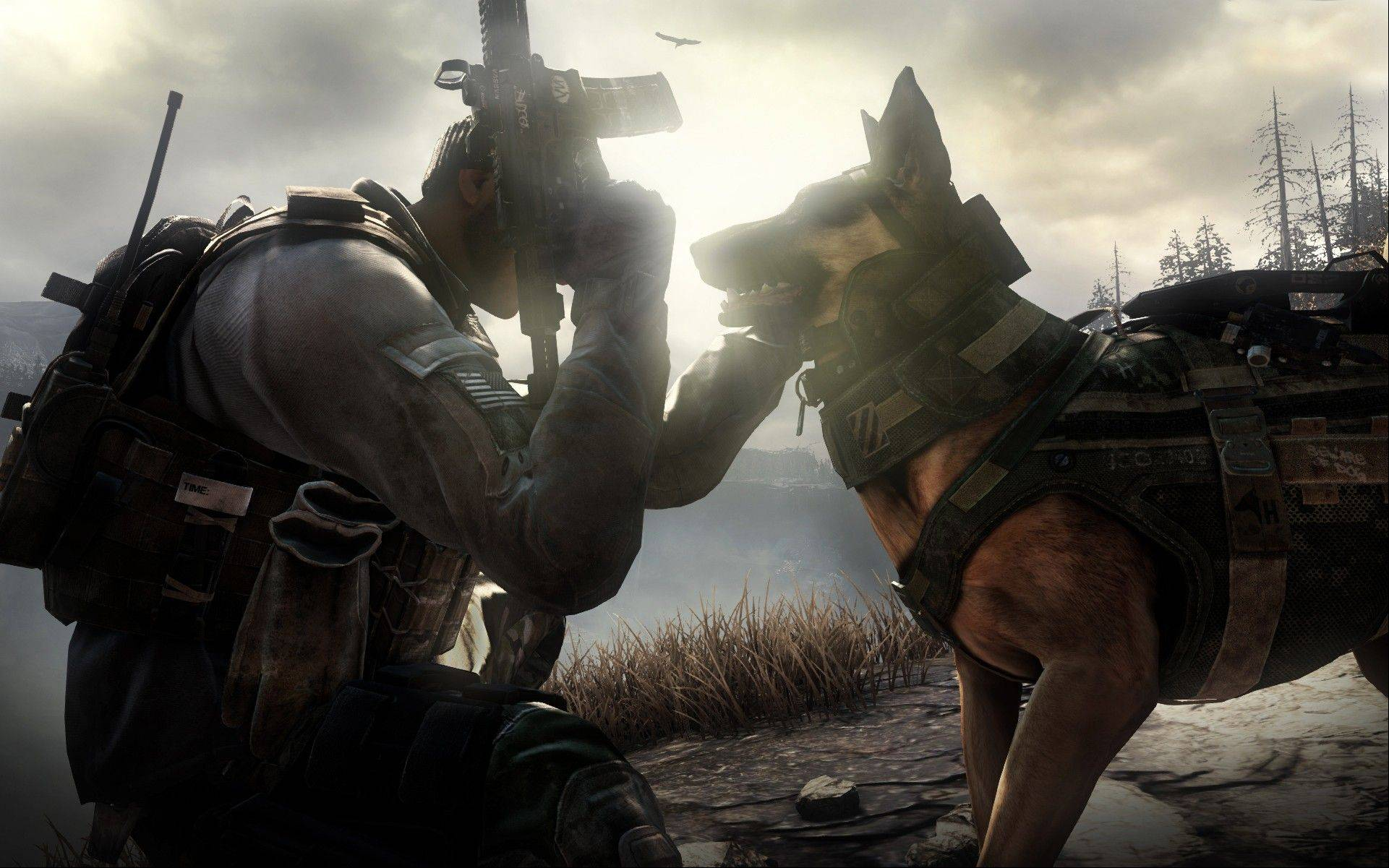 """Call of Duty: Ghosts"" isn't due until November 2013, but Riley the canine soldier has already become the breakout star of the military shoot-'em-up."