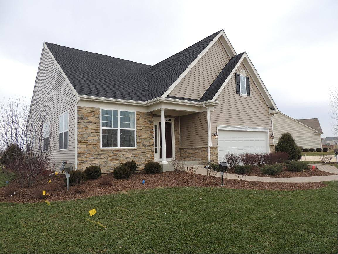 This home at the Villas at Southbury in Oswego is available for early delivery.