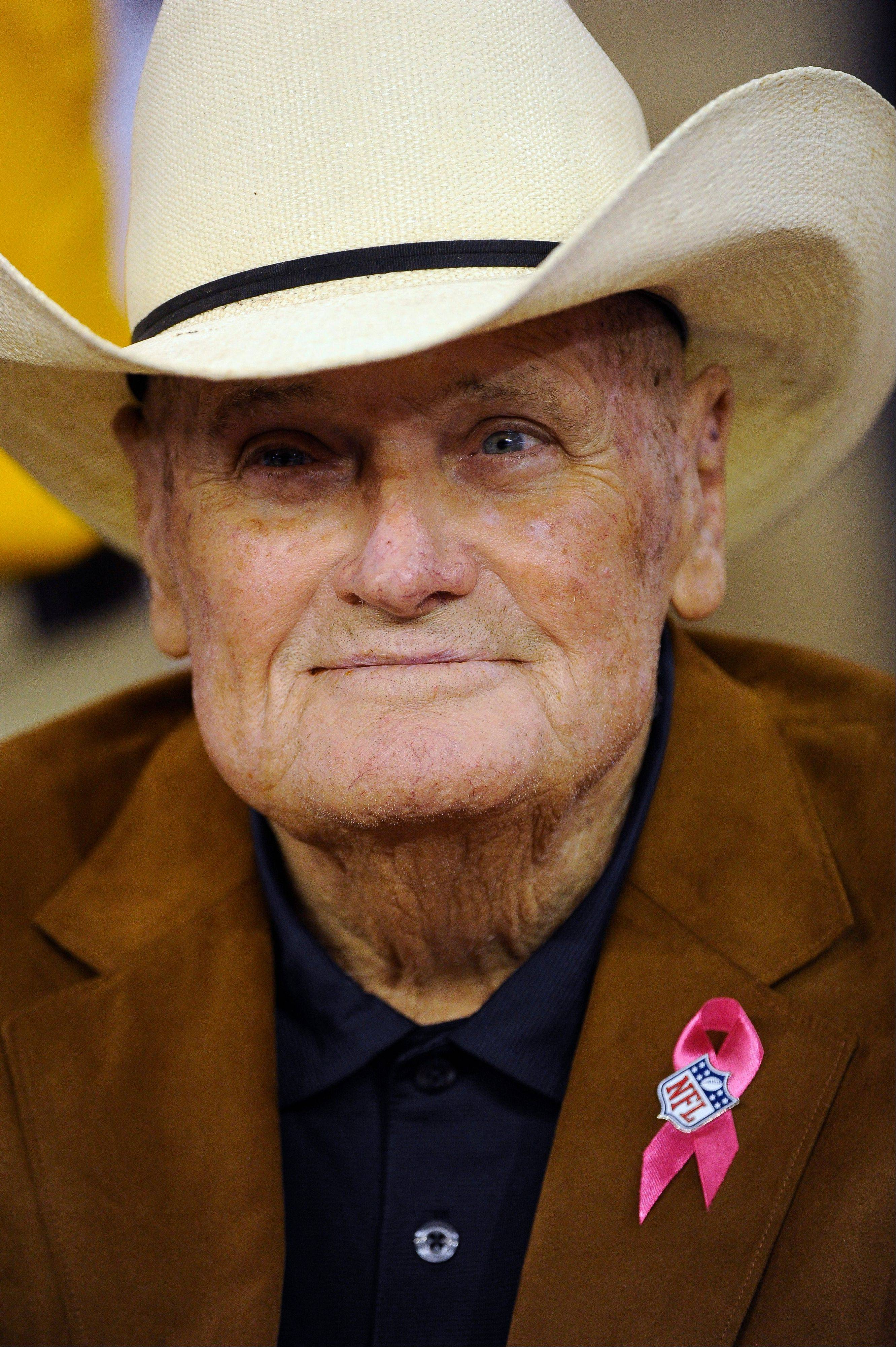 Former Houston Oilers coach Bum Phillips