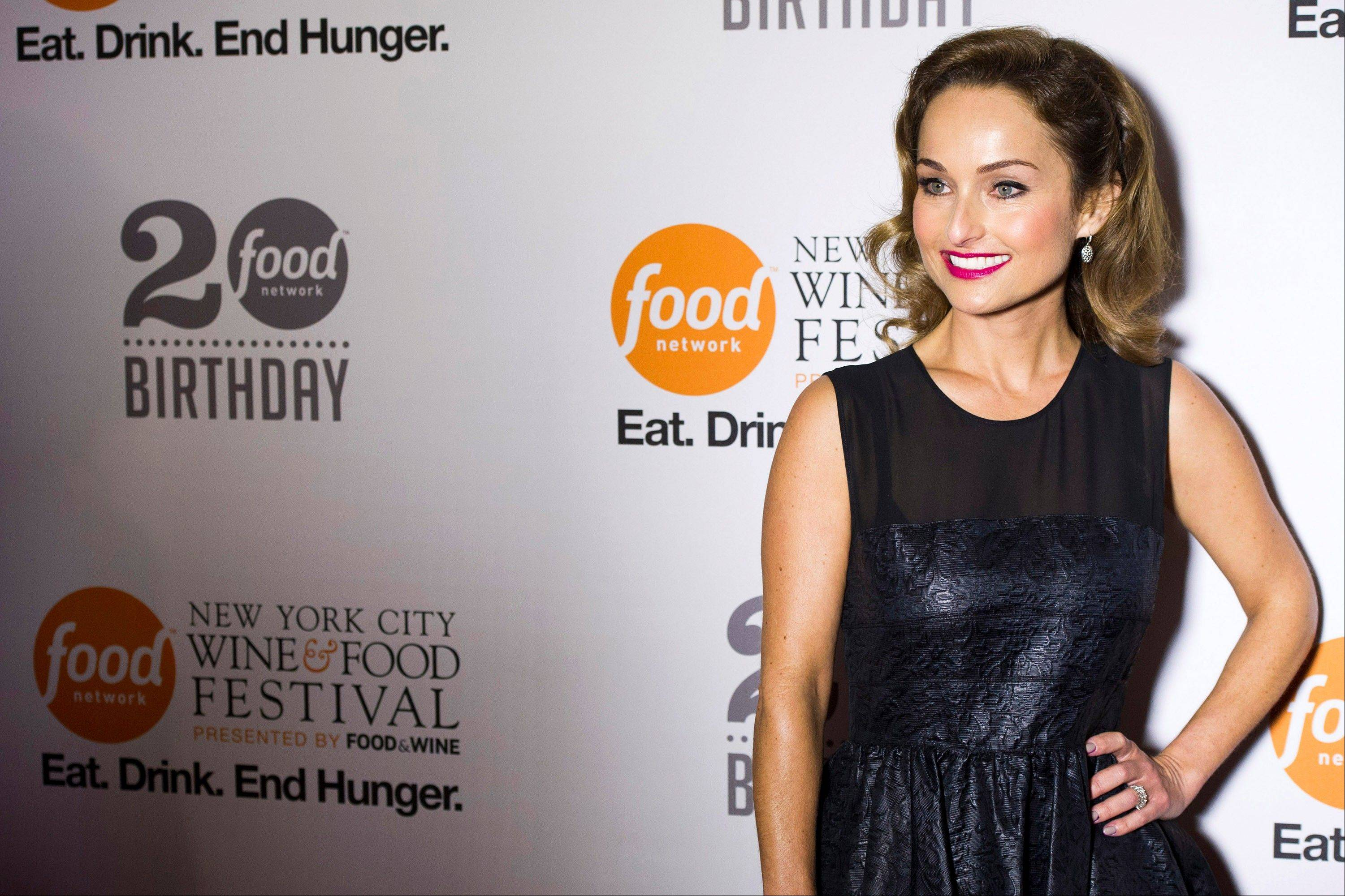 Giada De Laurentiis attends the Food Network's 20th birthday party on Thursday in New York.