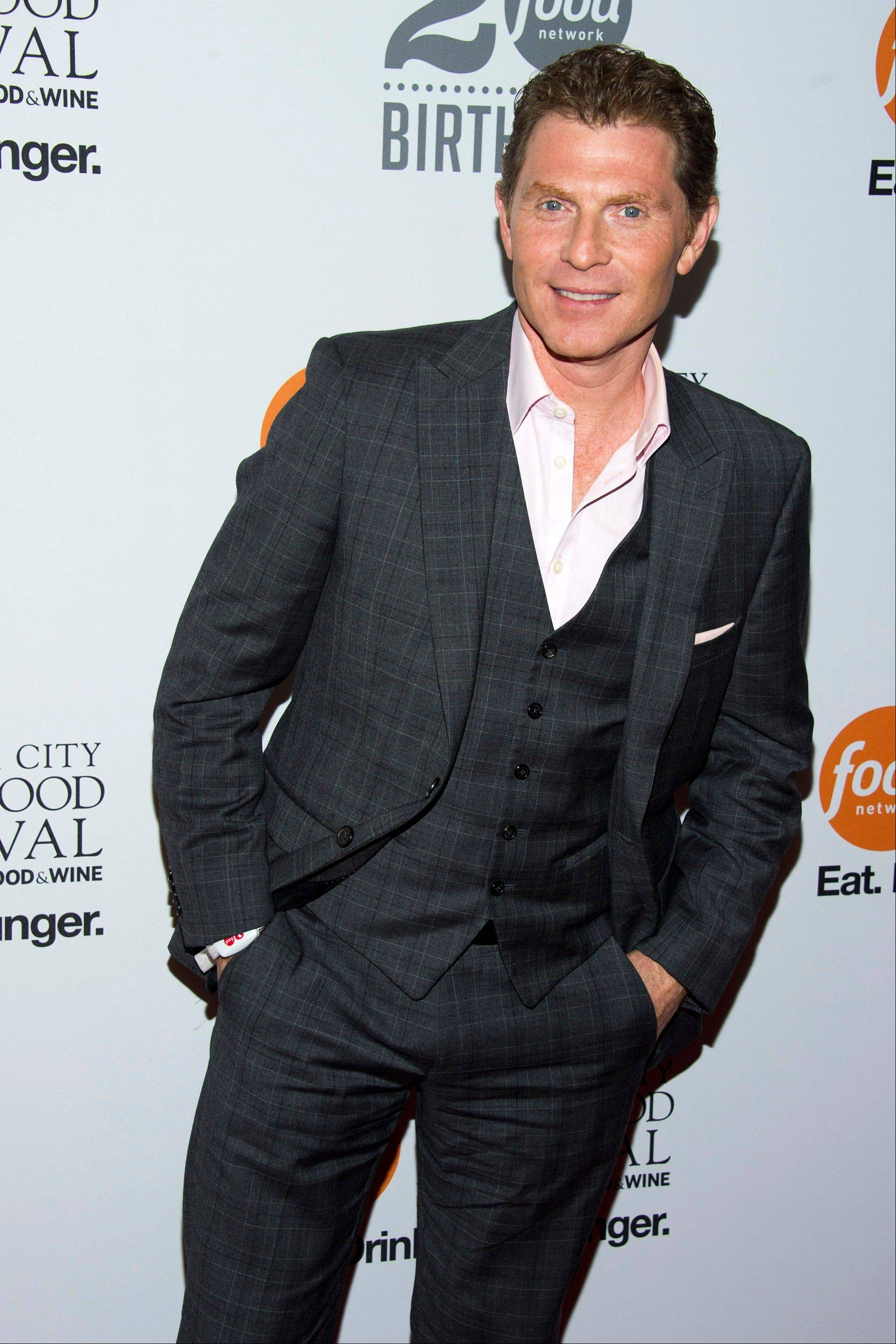 Bobby Flay attends the Food Network's 20th birthday party on Thursday in New York.