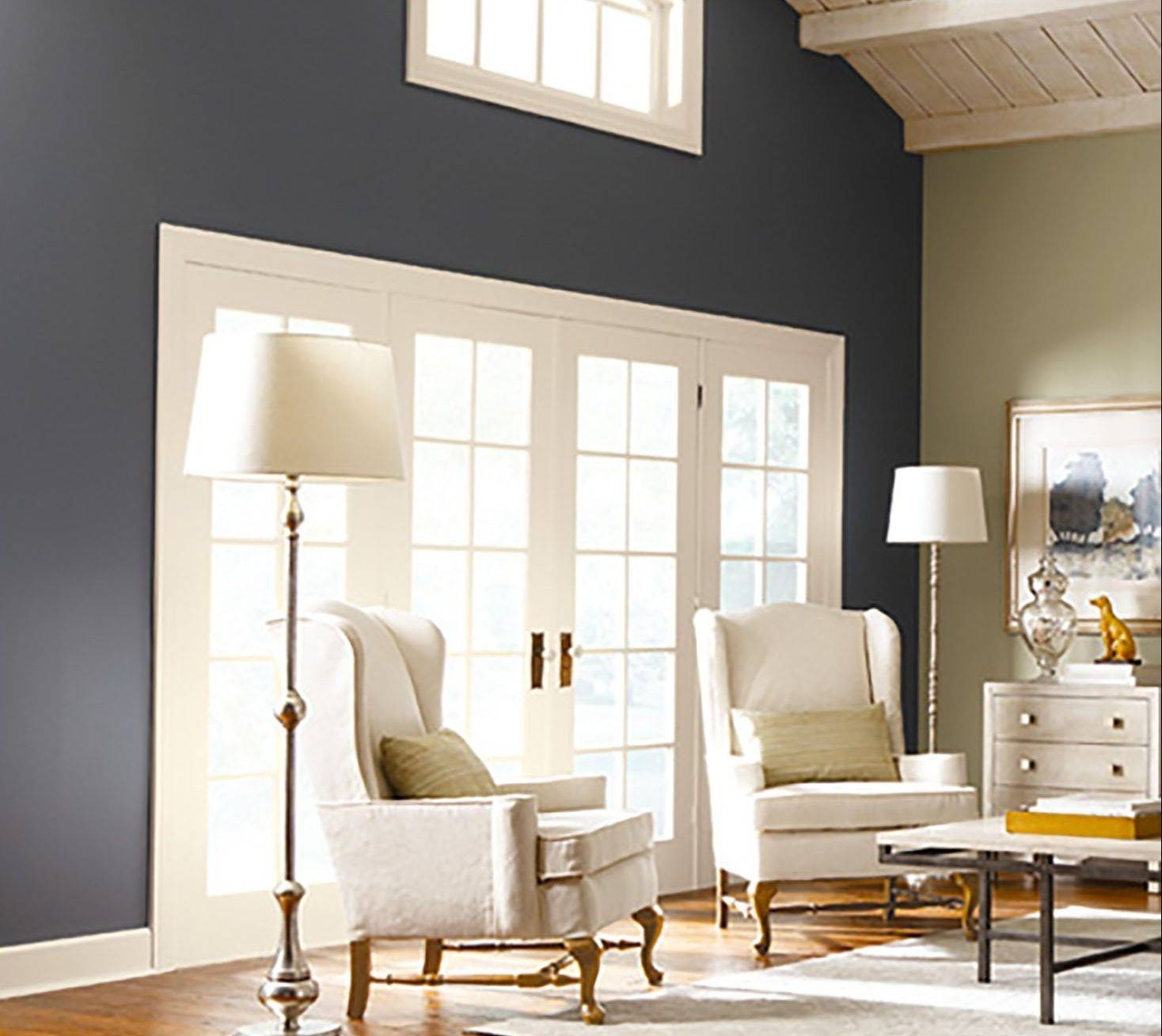 Homeowners are using accent walls to bring in bolder colors than they might otherwise choose.