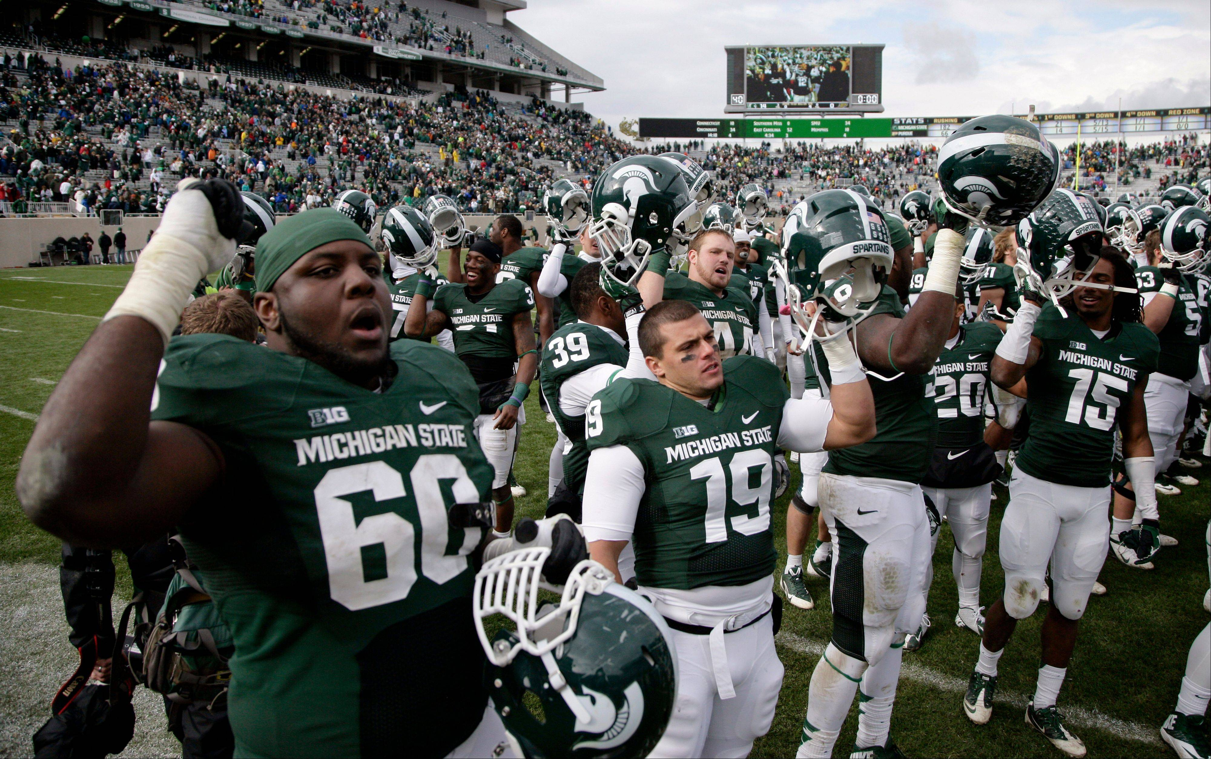 Spartans win again with little fanfare