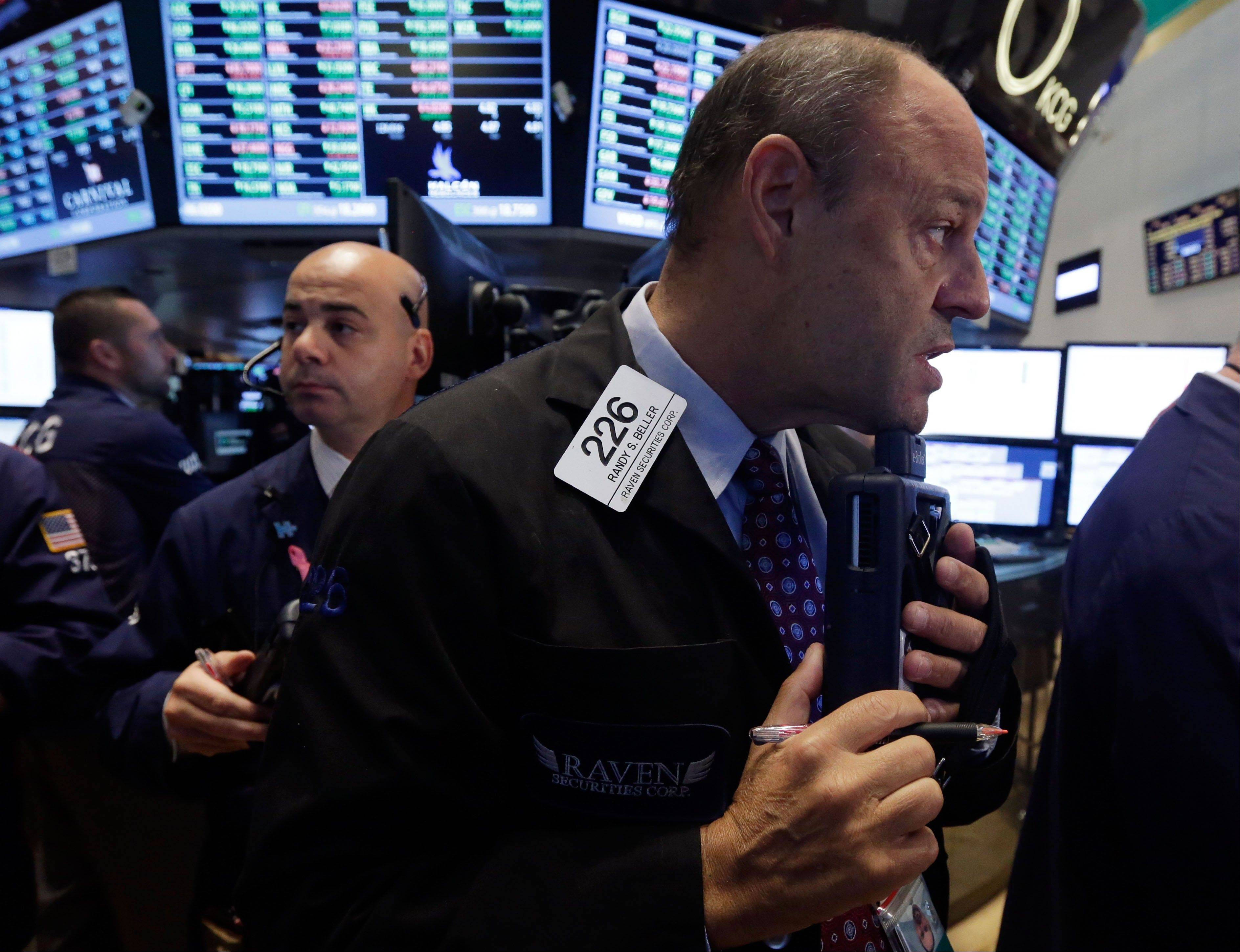 U.S. stocks were little changed, after the Standard & Poor's 500 Index rallied to a record, as investors watched corporate earnings to assess the strength of the economy before tomorrow's employment data.