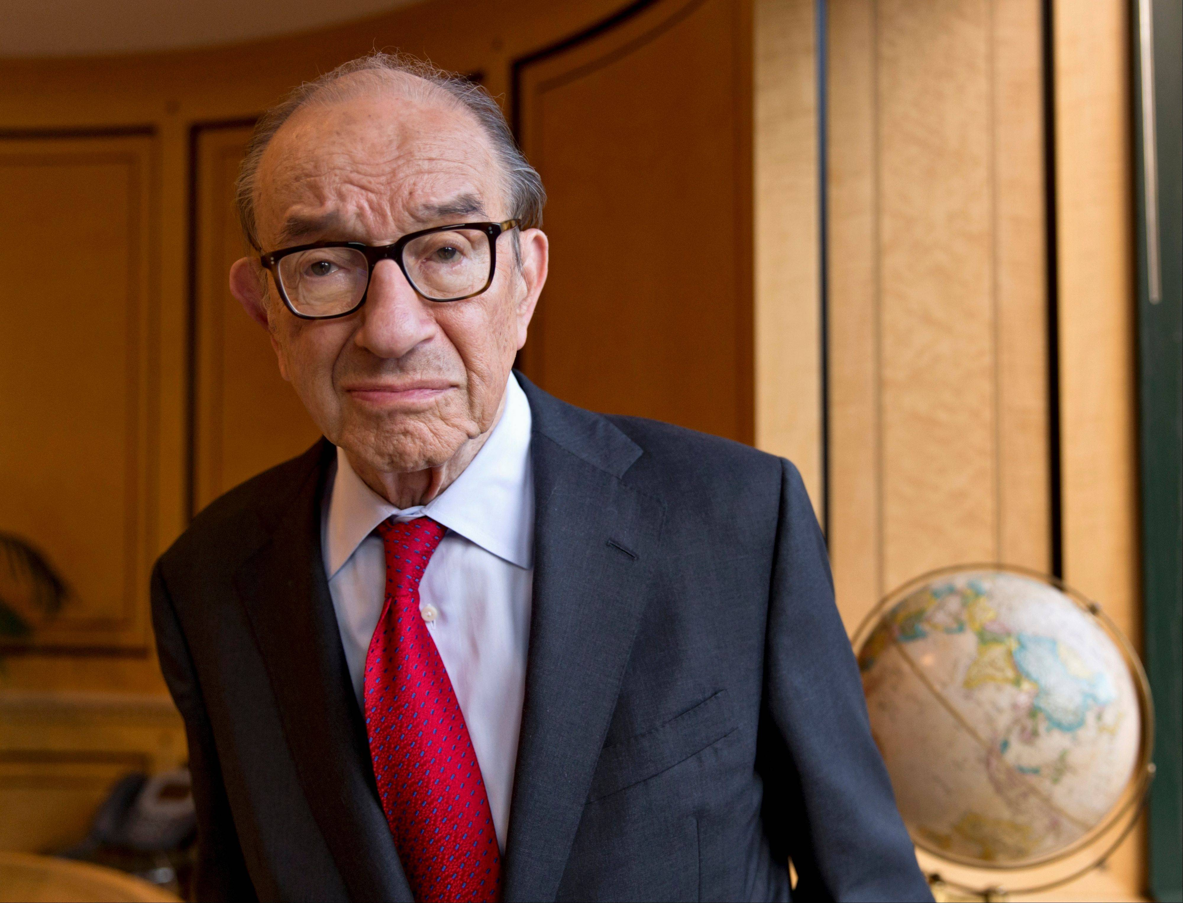 Alan Greenspan has struck back at any notion that he -- or anyone -- could have known how or when to defuse the threats that triggered the financial crisis that led to the Great Recession. Now 87, he work as a private consultant.