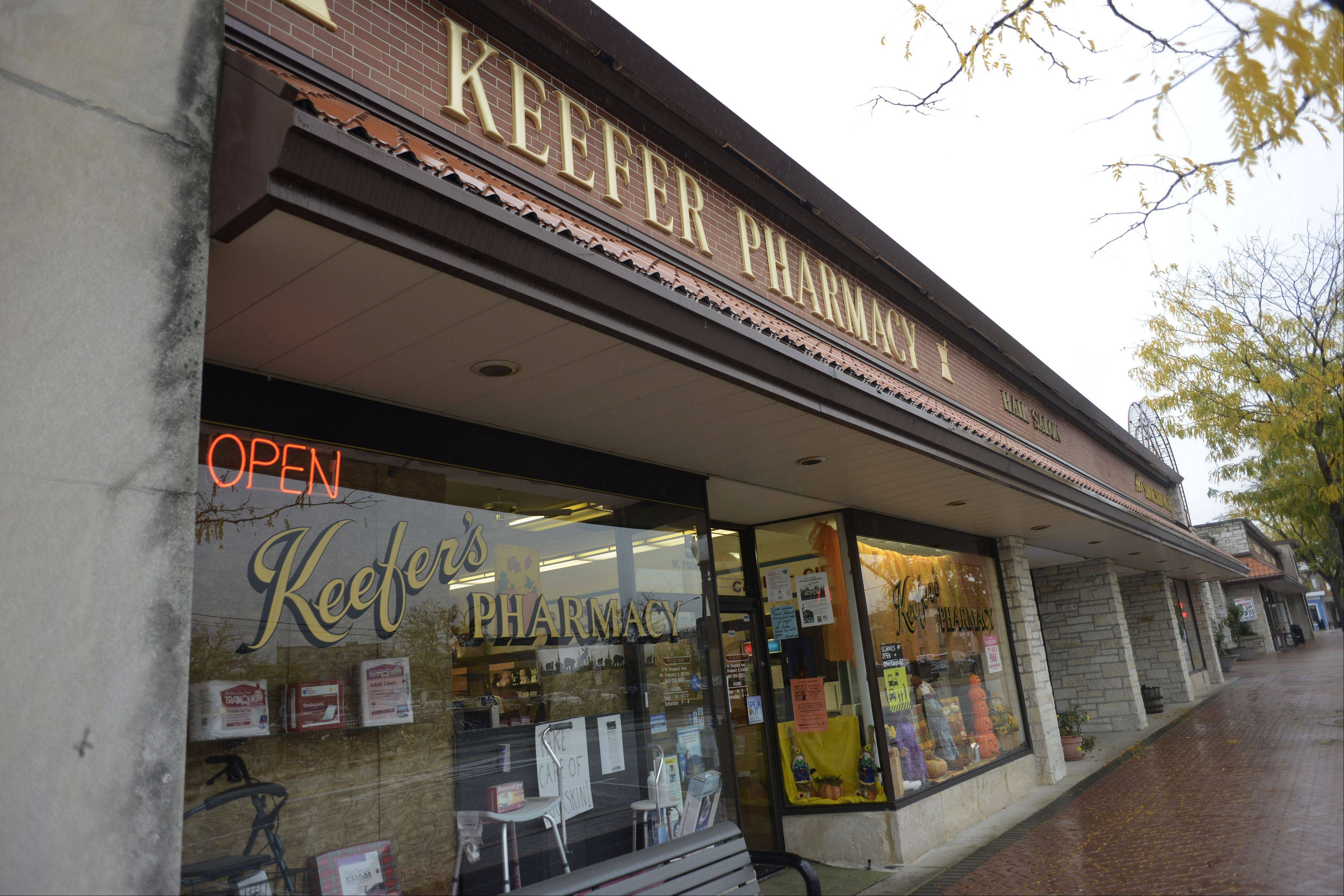 Keefer's Pharmacy has been in this Prospect Avenue location since 1966.