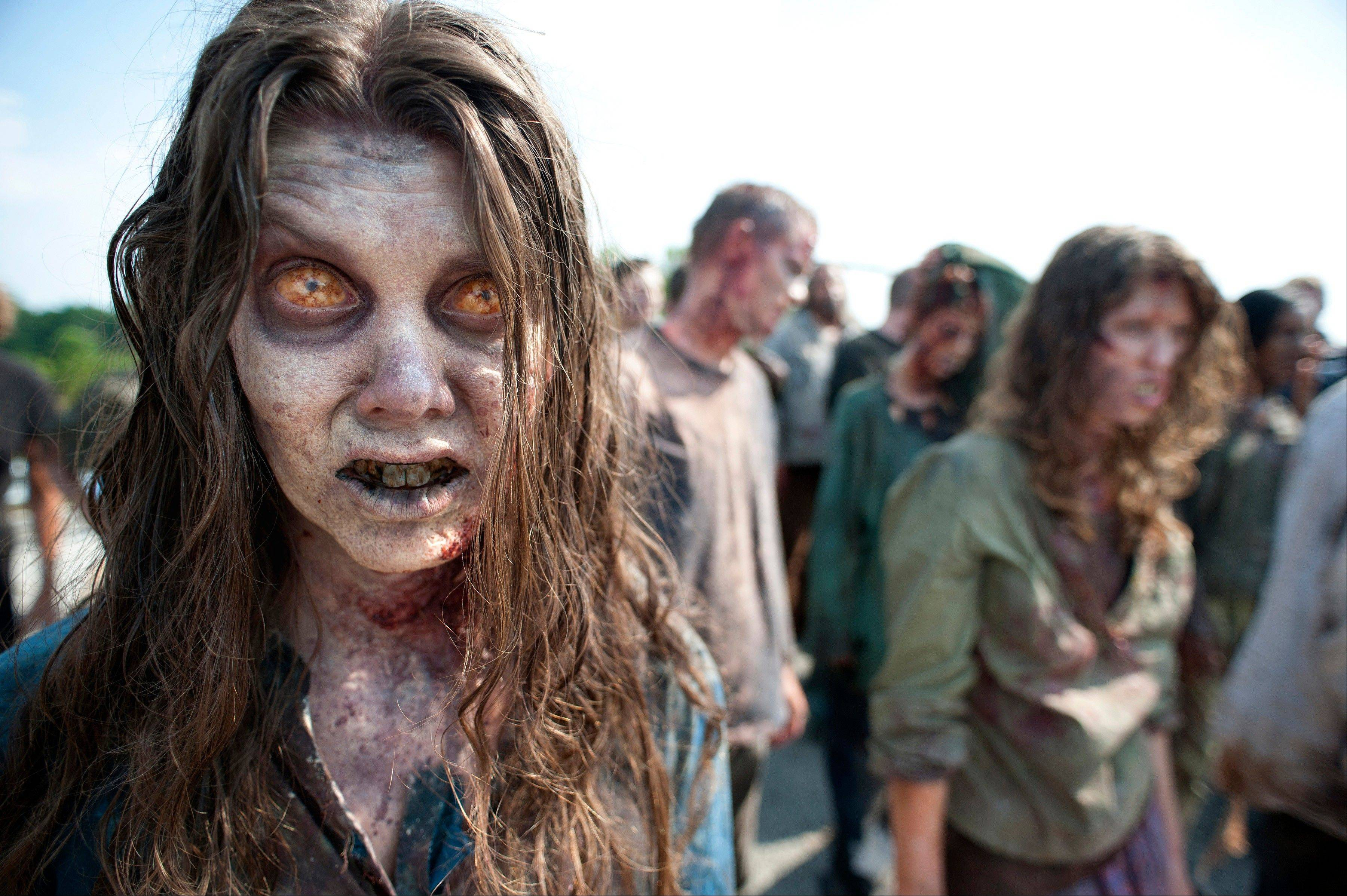 "AMC's popular drama ""The Walking Dead"" has inspired a convention expected to draw 10,000 to Atlanta early next month."