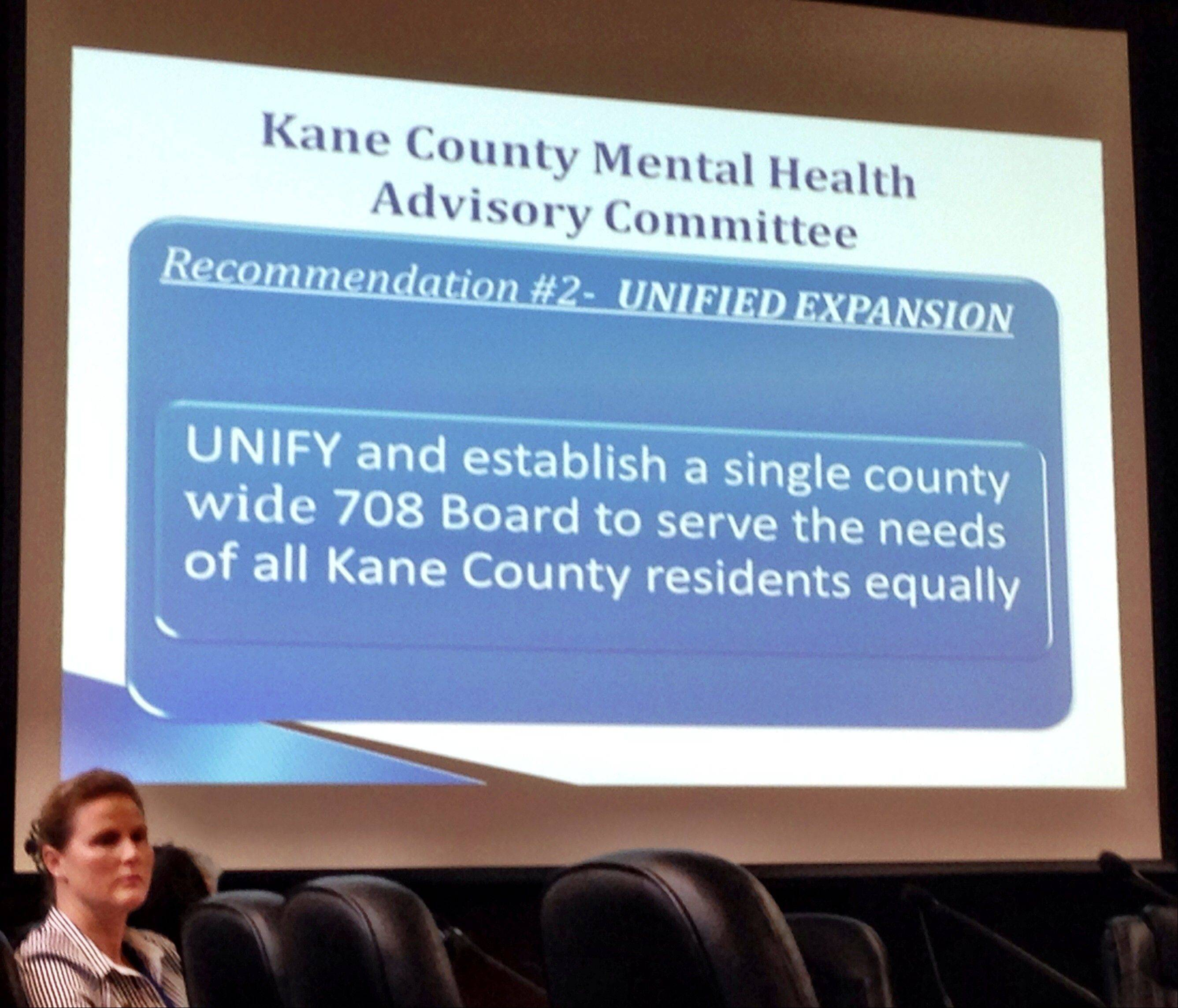 Kane County officials will have to decide soon whether or not they want to create a countywide board and tax to address mental health, substance abuse and developmental disabilities needs in the county.