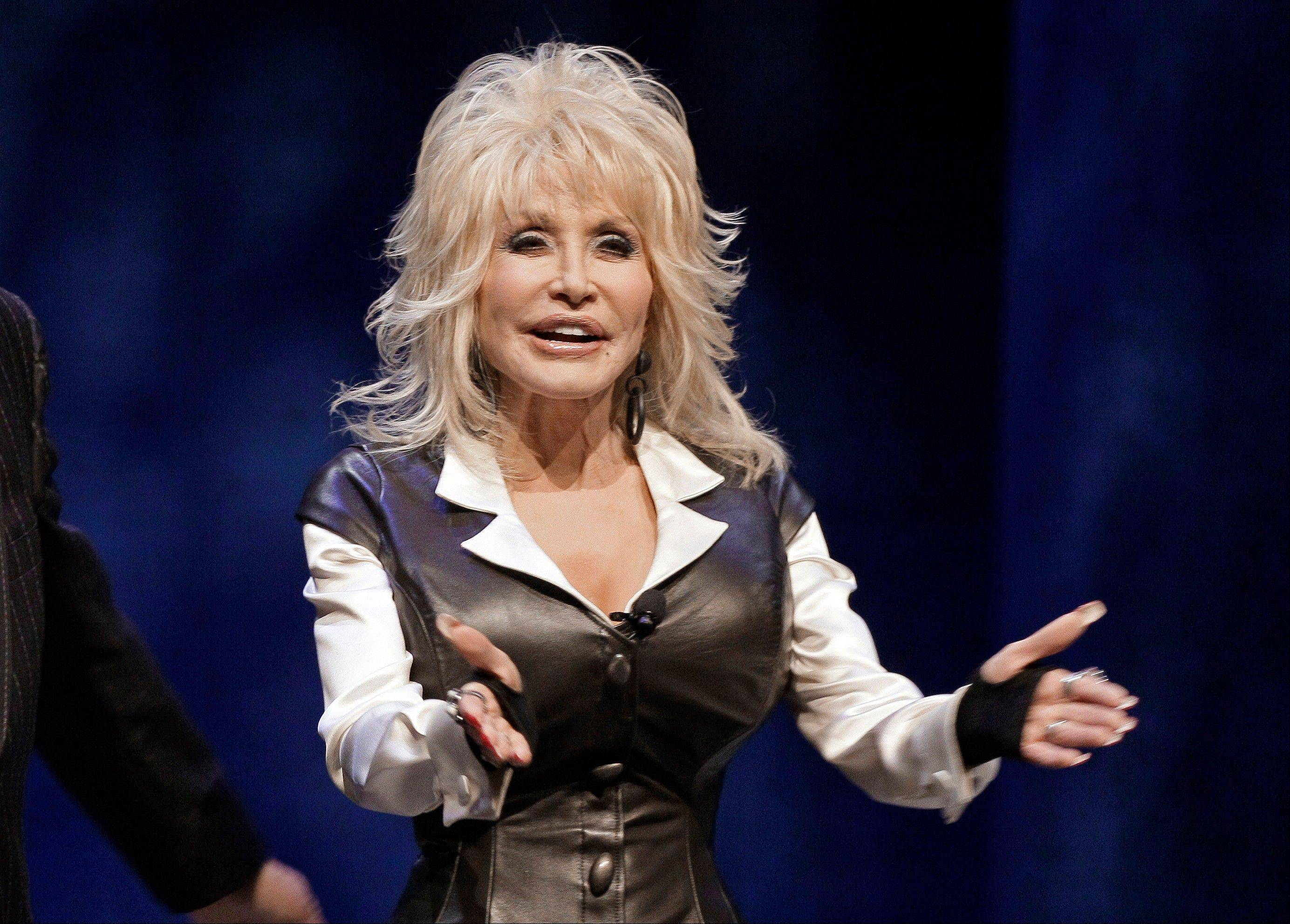Dolly Parton was treated and released at a Nashville, Tenn., hospital Monday after a car she was riding in was involved in an accident.