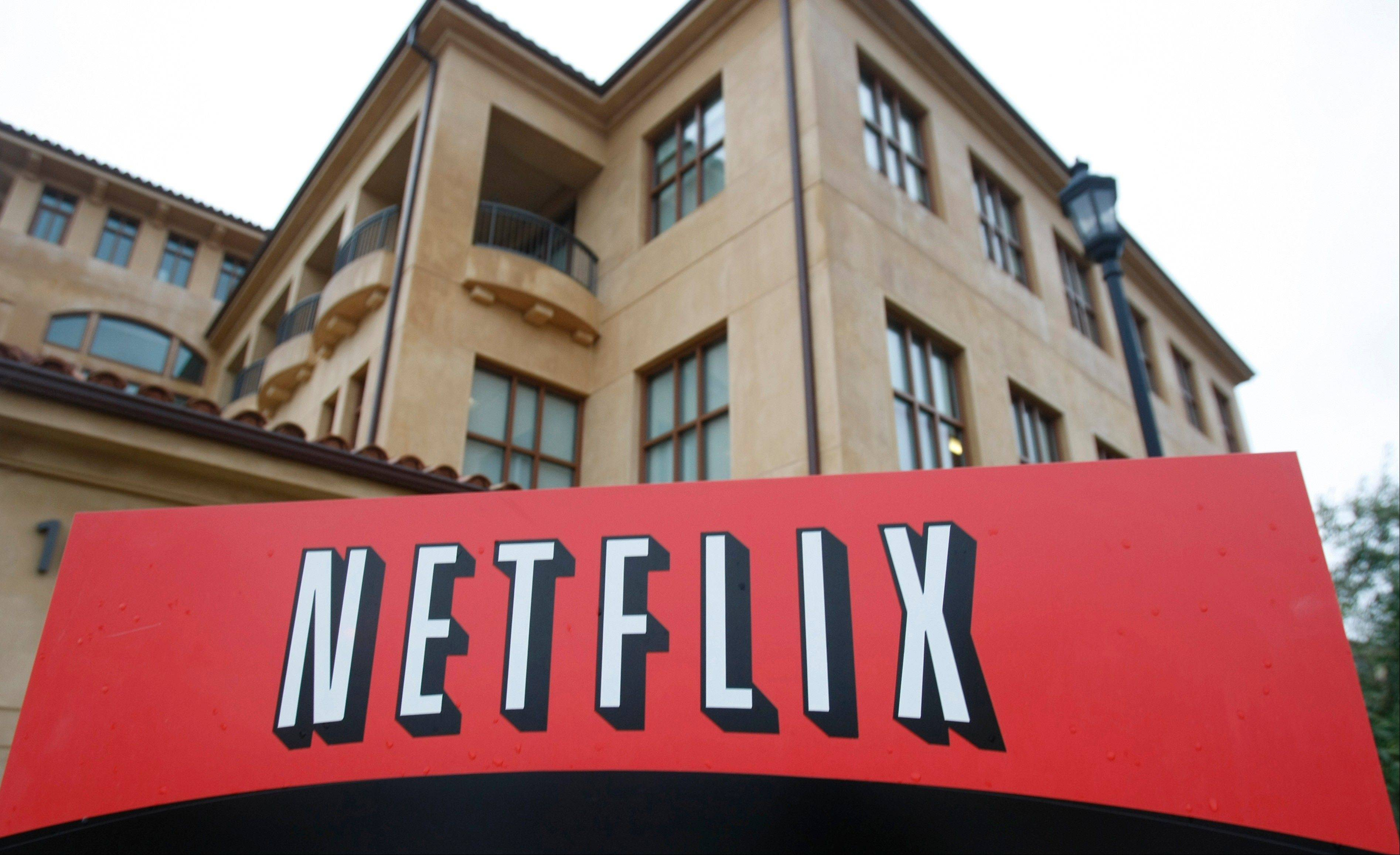 Netflix's earnings quadrupled as its line-up of original programming helped the Internet video subscription service attract 1.3 million more U.S. subscribers during its latest quarter.