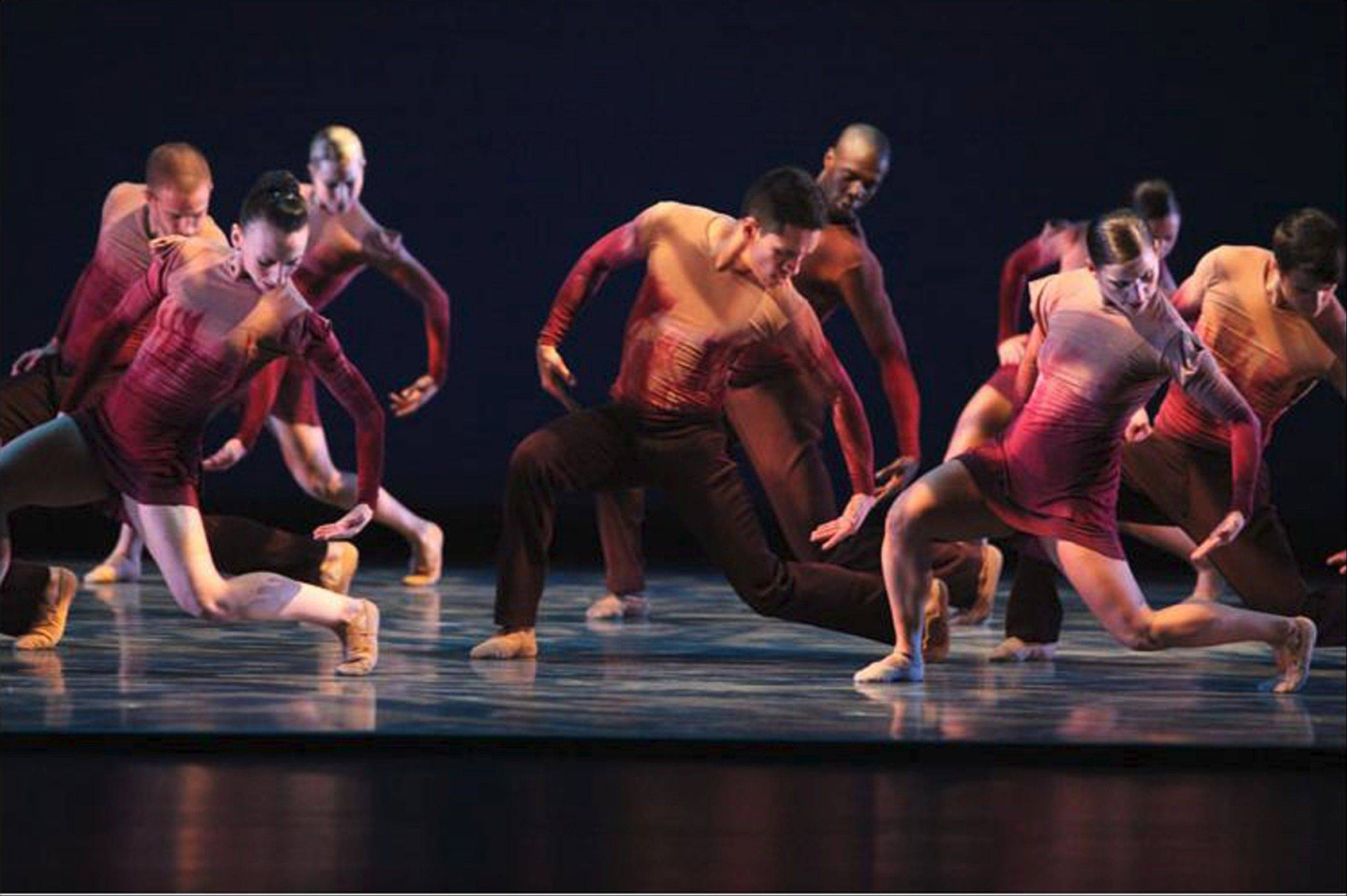 "Kiesha Lalama's 2011 piece ""Alegria"" returns to the repertory of Giordano Dance Chicago, which performs at Millennium Park's Harris Theater for Music and Dance on Friday and Saturday, Oct. 25 and 26."