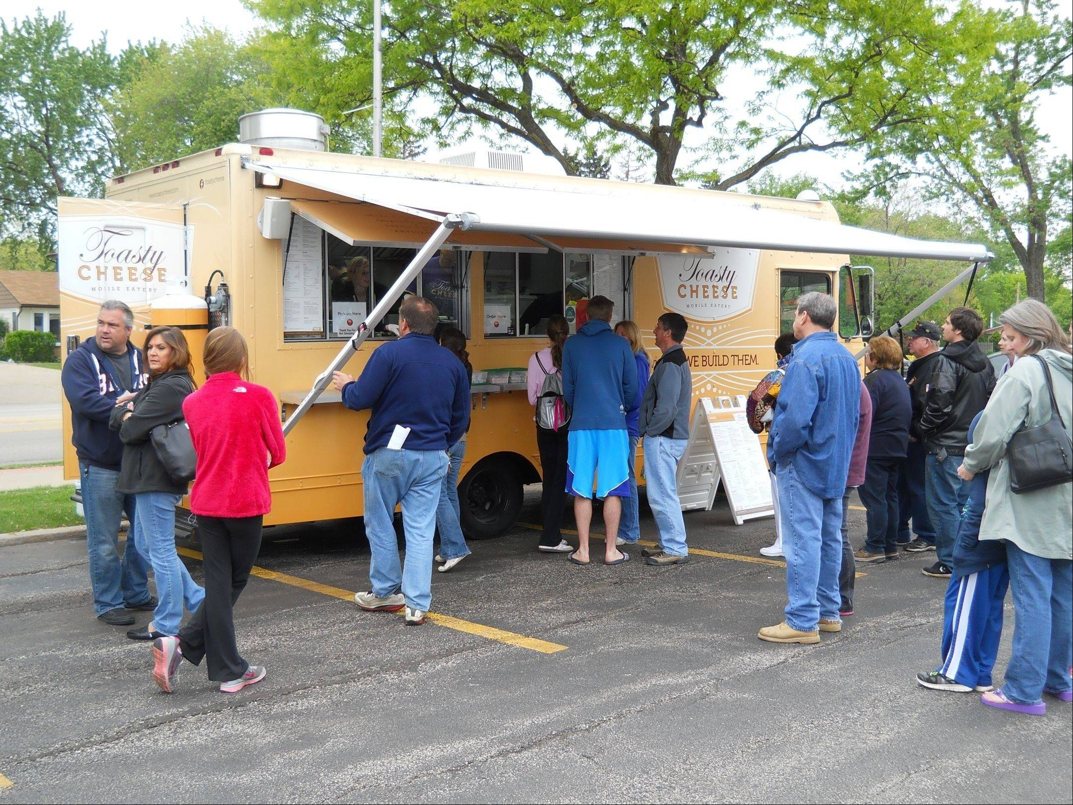 Toasty Cheese is one of the food trucks that will roll into Schaumburg Boomers Stadium Oct. 26.
