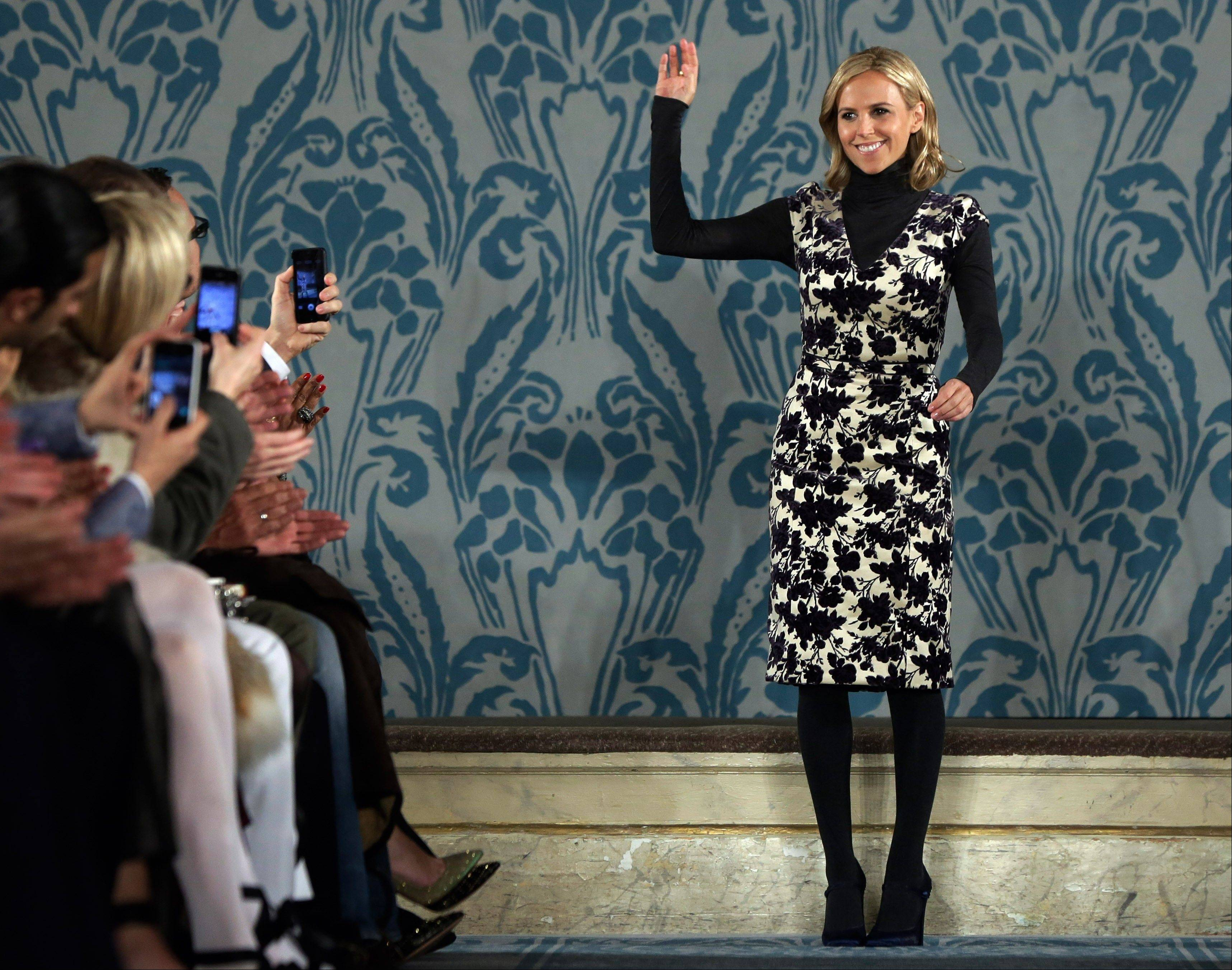 Designer Tory Burch is now in the beauty business, the latest in a string of designers expanding their labels into a full face-to-toe look.