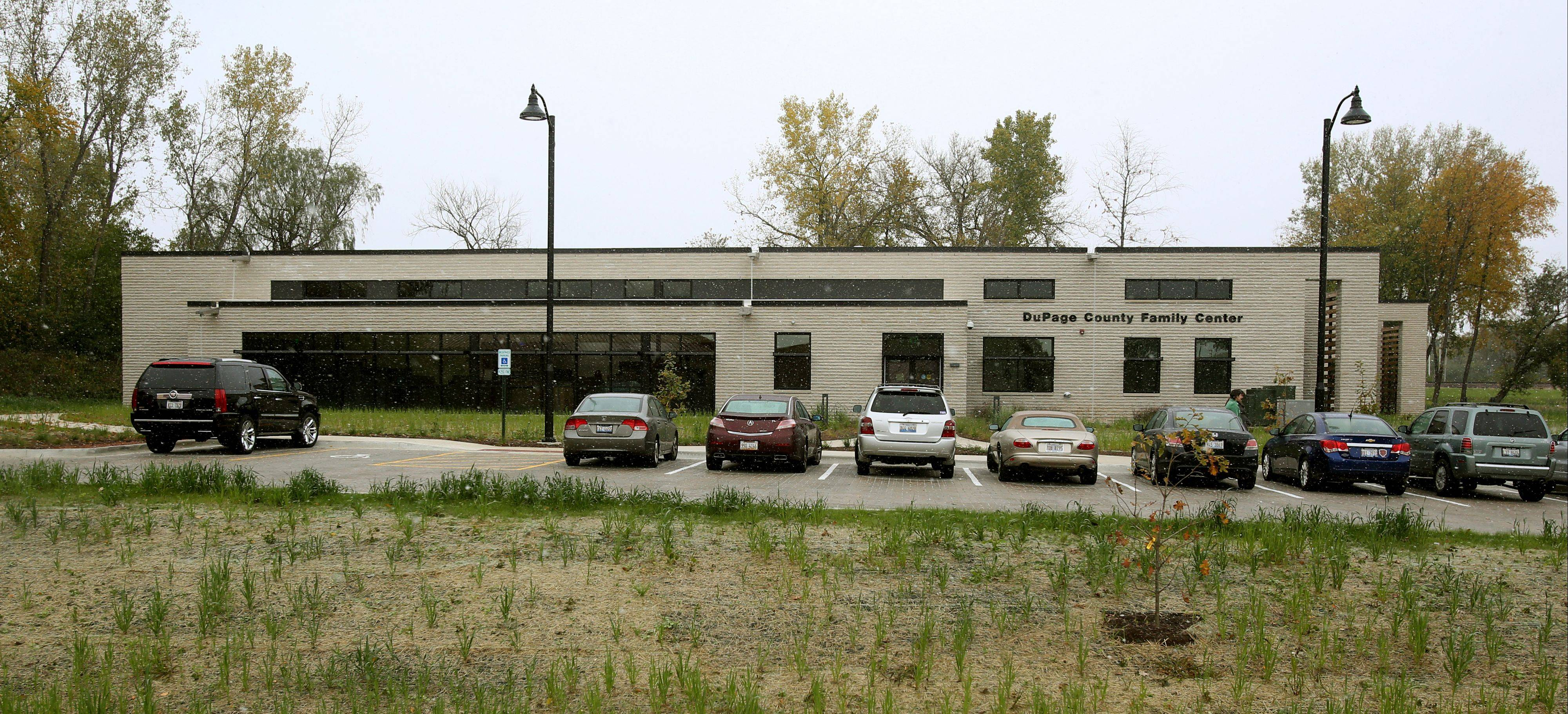 The DuPage County Family Center was constructed as part of the same $5.6 million project that built the adjacent Jeanine Nicarico Children's Advocacy Center.
