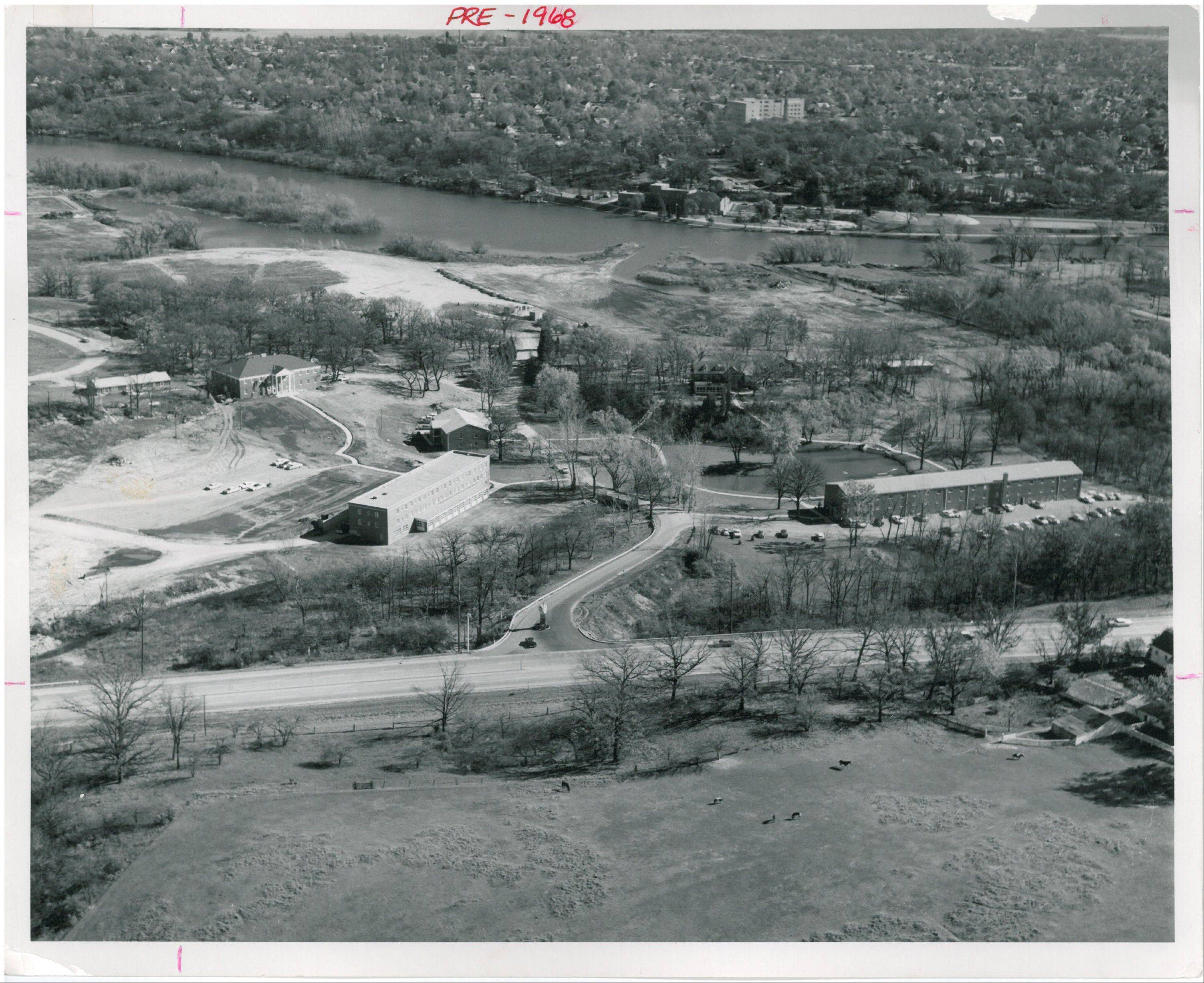 A 1968 aerial shot of Judson College, a Christian institution marking its 50th year in Elgin. Now Judson University, it will officially install its sixth president, Dr. Gene C. Crume Jr. at 3 p.m. Thursday.