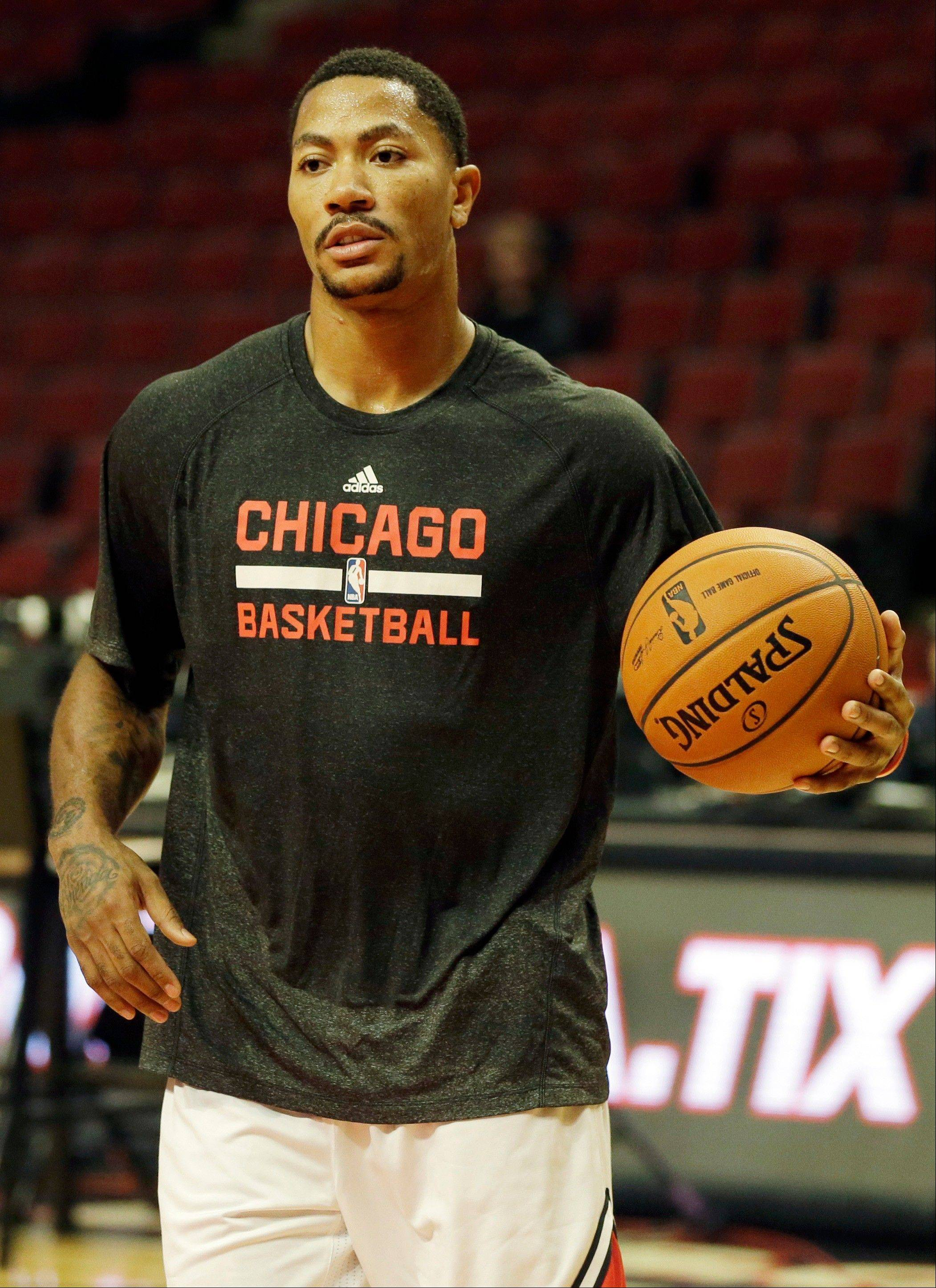Bulls guard Derrick Rose is playing like he wants to prove a point to all of his doubters.