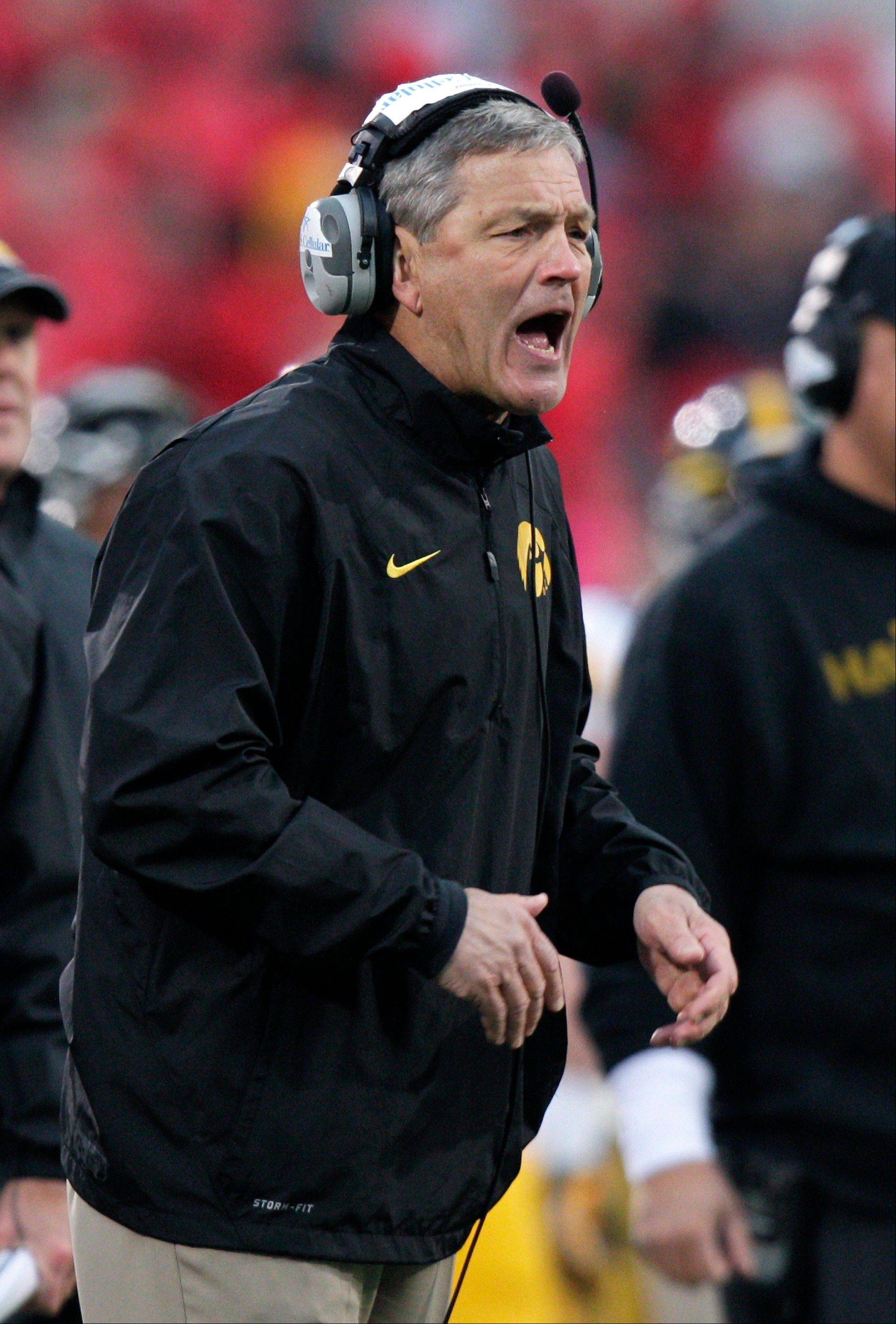 Head coach Kirk Ferentz and the Iowa Hawkeyes had their first bye on Oct. 12 and will have another Nov. 16.