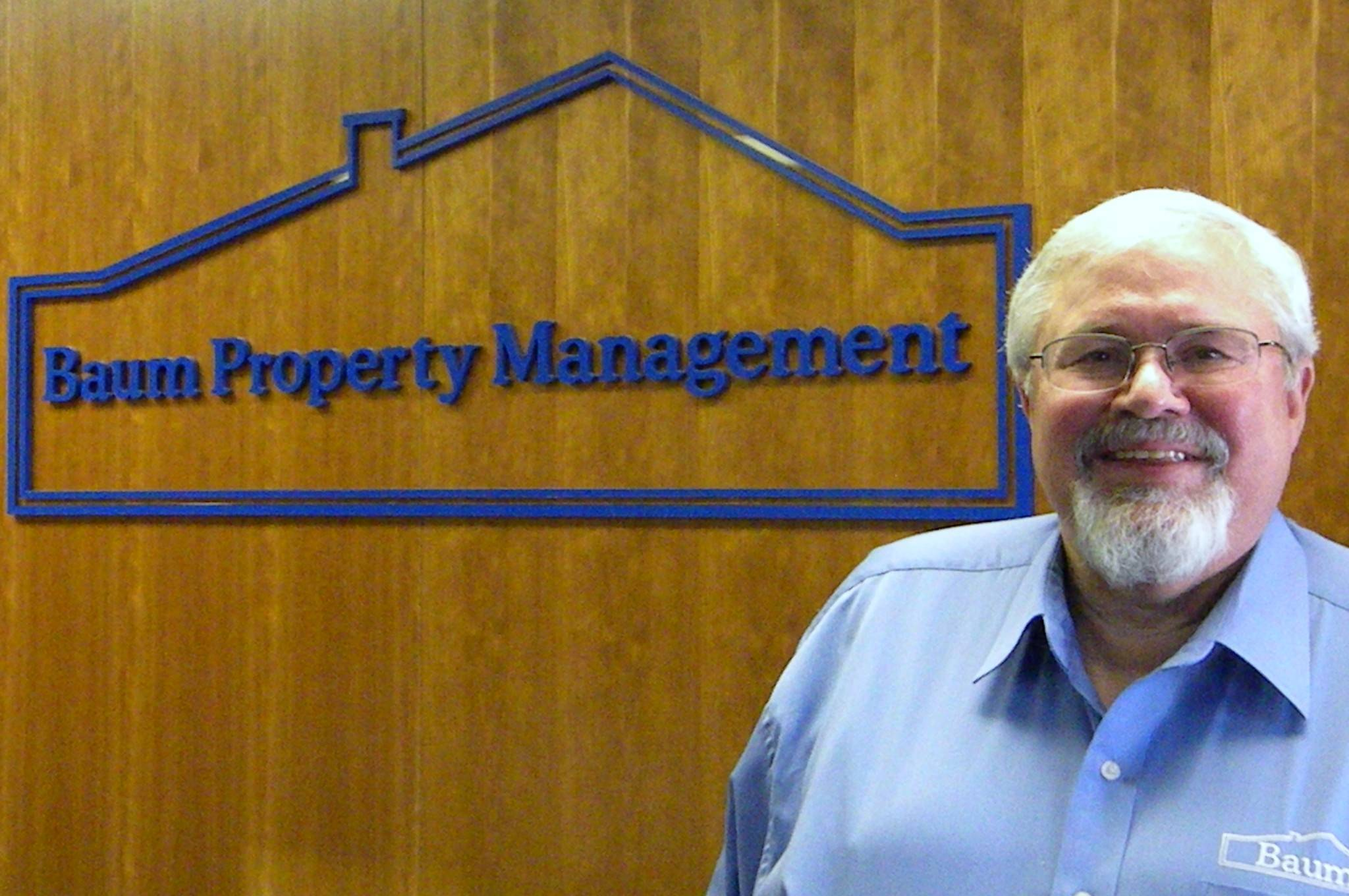 Baum Property Management's founder & president, Michael D. Baum, PCAM