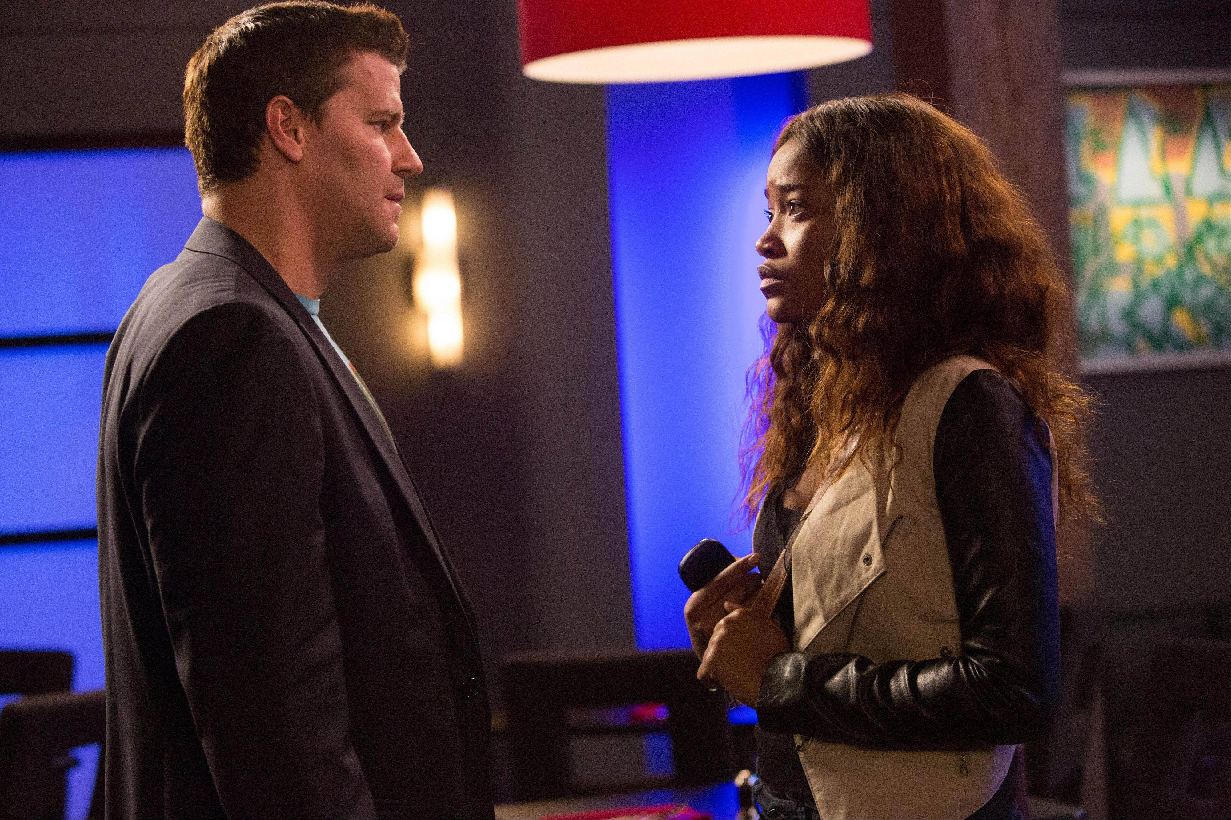 "David Boreanaz and Keke Palmer are just two of the stars in the DirecTV ensemble drama ""Full Circle,"" by filmmaker and playwright Neil Labute. LaBute wrote the 10-episode drama, airing at 8 p.m. Wednesdays on DirecTV."