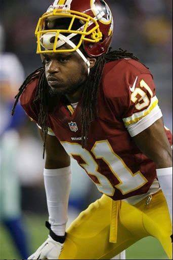 Washington safety Brandon Meriweather was penalized twice for hits to the head and neck in Sunday�s game against the Bears.