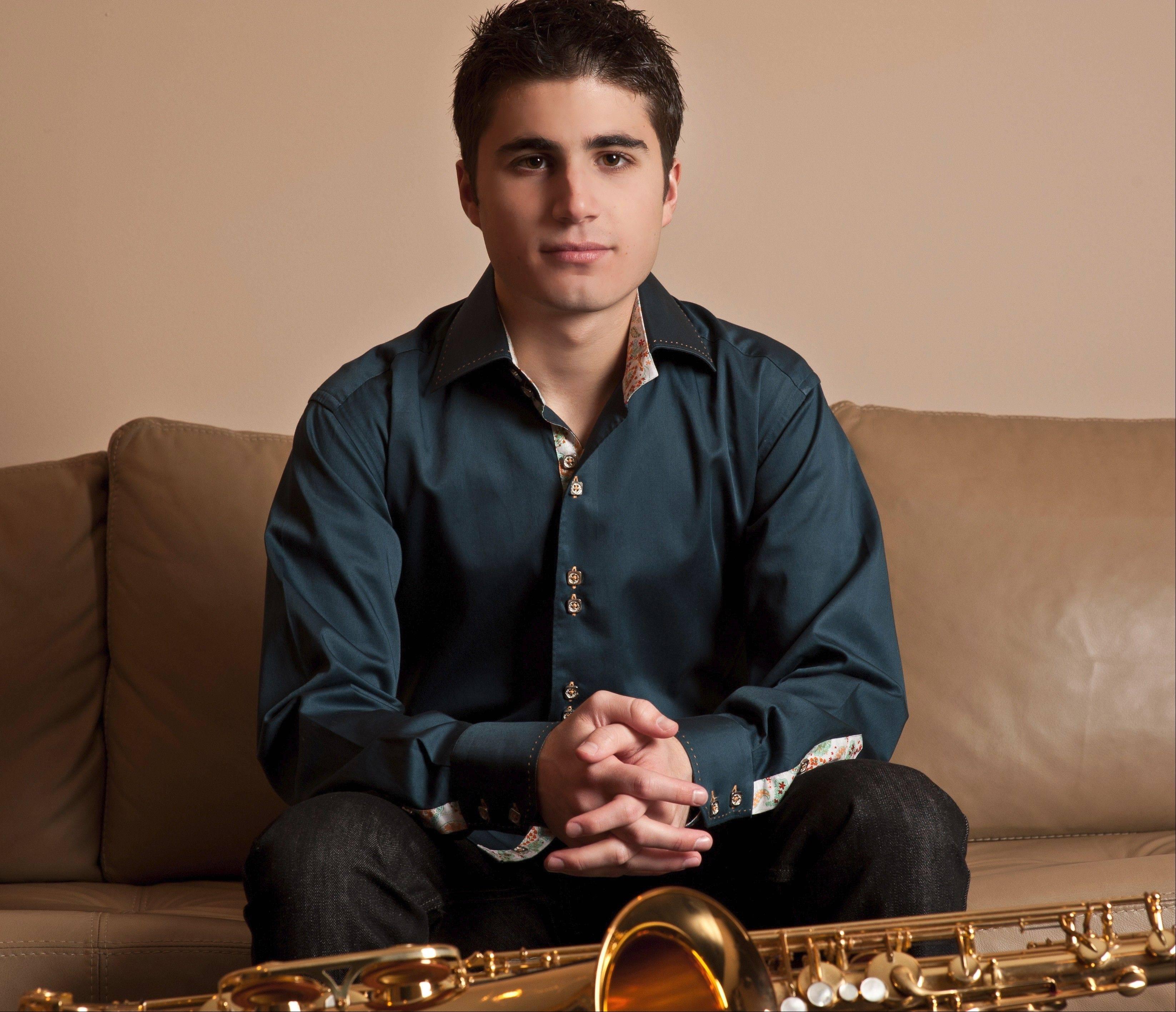 Saxophonist Vincent Ingala performs in concert at the Montrose Room at the InterContinental O'Hare Hotel in Rosemont on Saturday, Oct. 26.