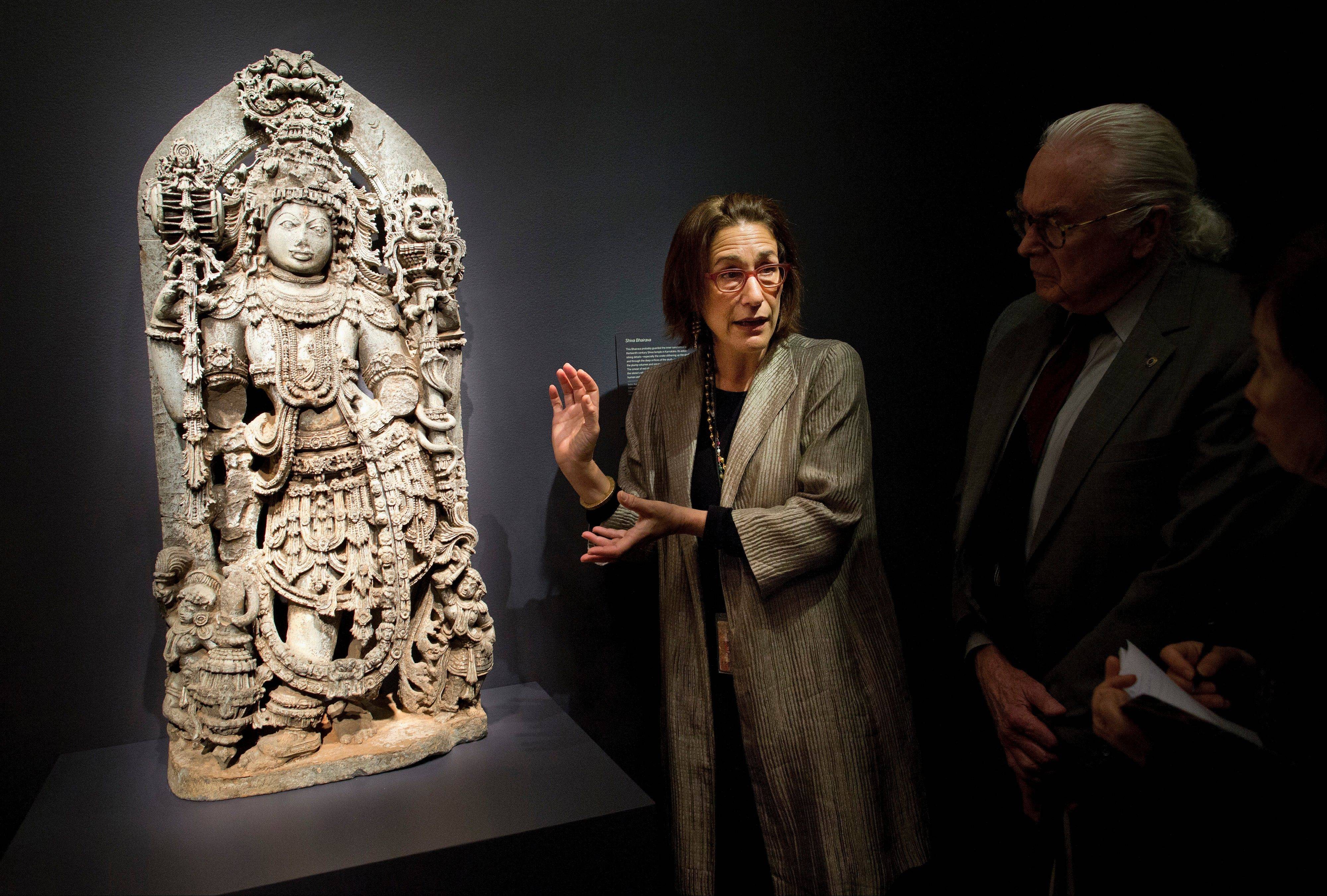 "Debra Diamond, exhibition curator and Curator of South and Southeast Asian art at the Smithsonian, discusses a piece in the new exhibit, ""Yoga: The Art of Transformation."""