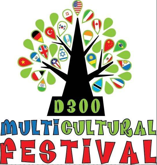 This logo, designed by Justine Wood-Massoud, a parent from Westfield Community School in Algonquin, will be the new face of the district's Multicultural Festival. The district held a contest for the logo in which the public voted for their favorite one out of five. Three of Wood-Massoud's designs, including this one, made it to the finals.