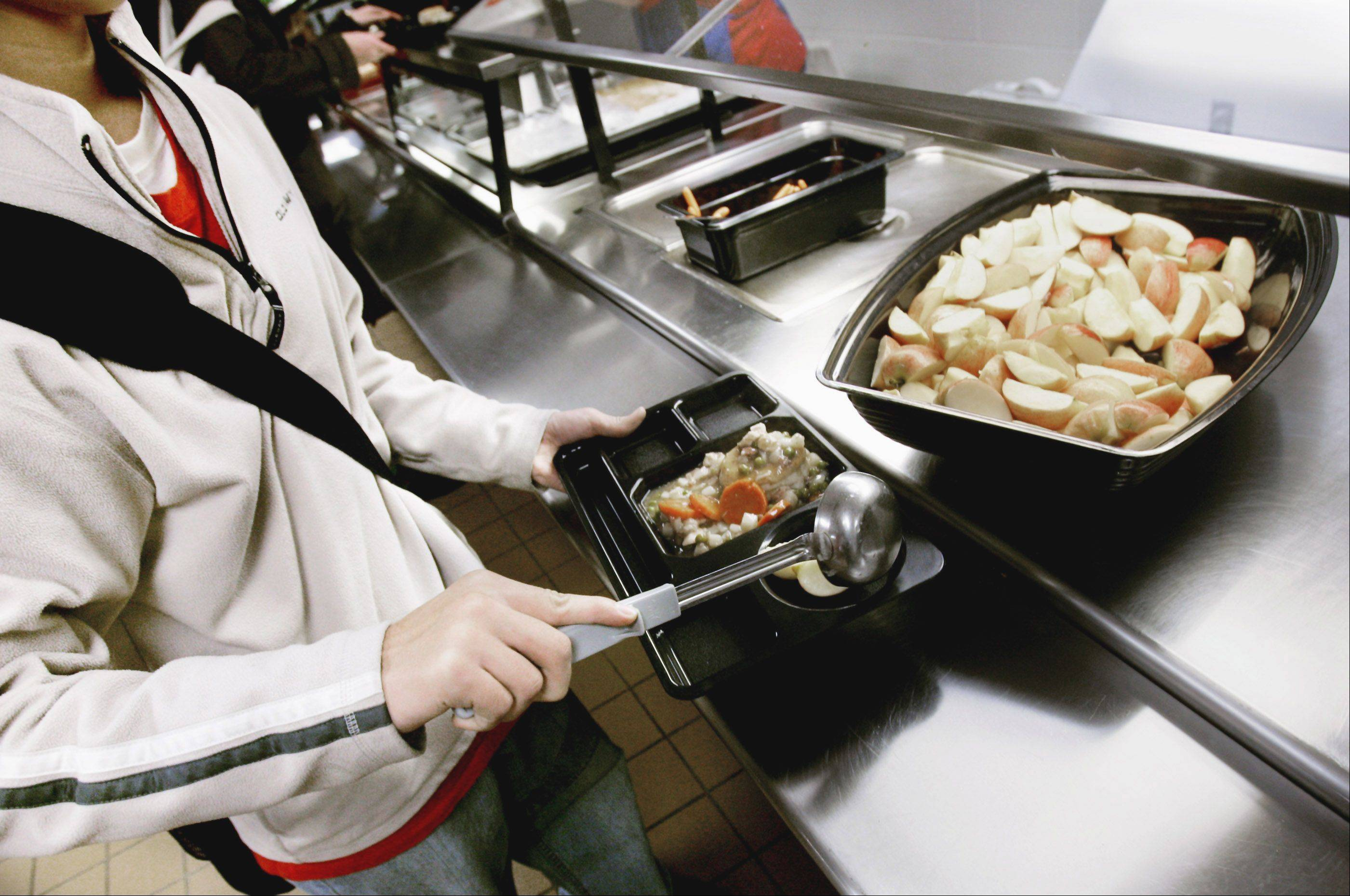 Lunch at Batavia schools is set to go up by 10 cents per meal. The district, which participates in the National School Lunch Program offering healthier options like the apple slices at this Minnesota school, is trying to bring costs more inline with the federal program.