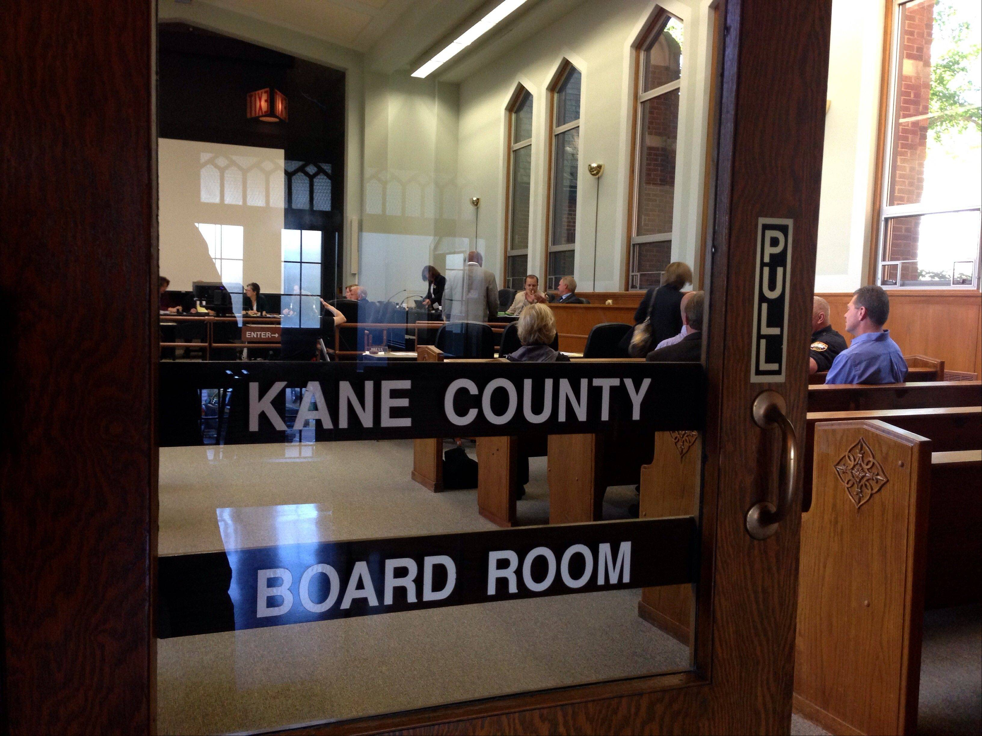 The hiring process for high-level Kane County jobs will occur mostly behind closed doors if the county board approves a change requested by County Chairman Chris Lauzen.