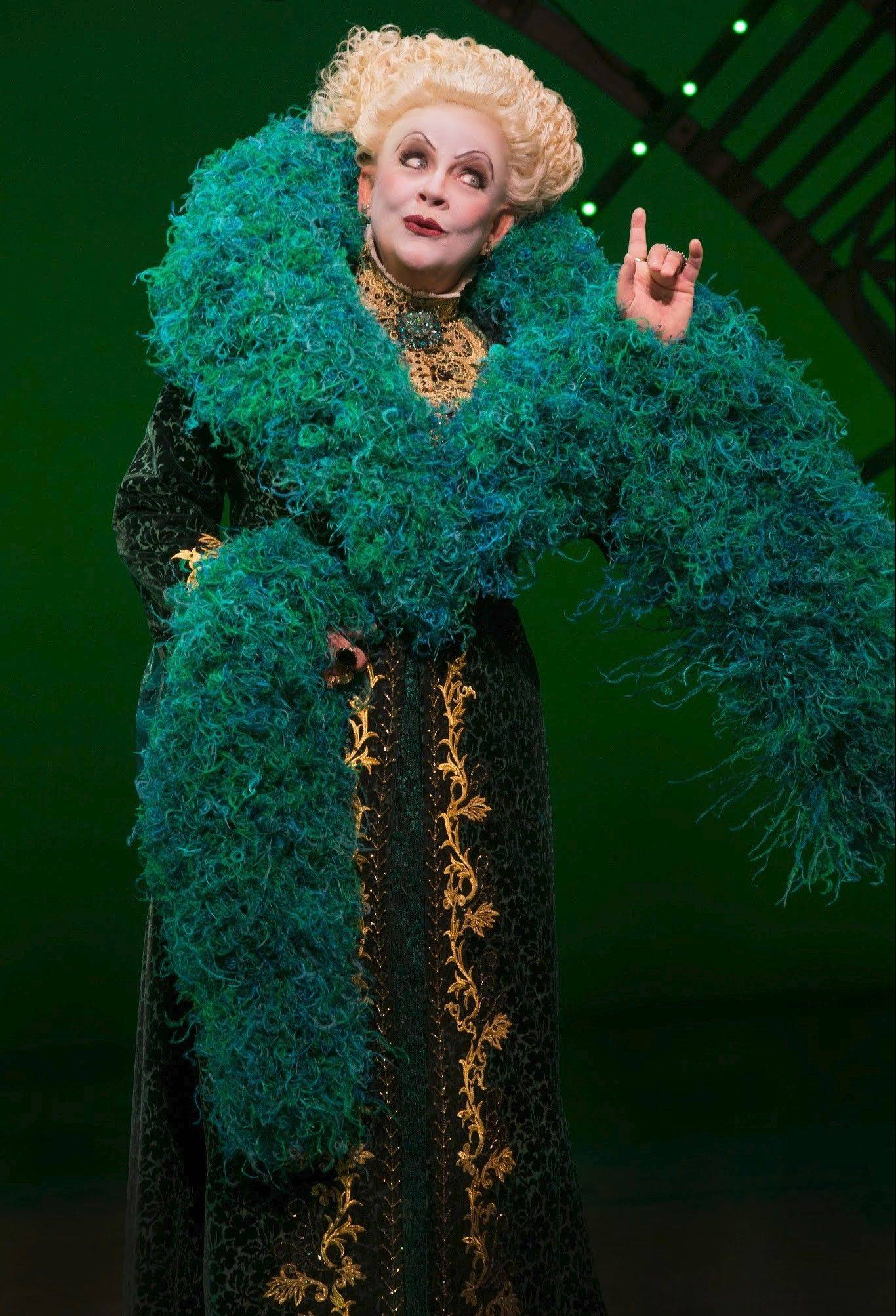 """Guiding Light"" star Kim Zimmer appears as Madame Morrible in the Emerald City national tour of ""Wicked,"" playing at the Oriental Theatre in Chicago."