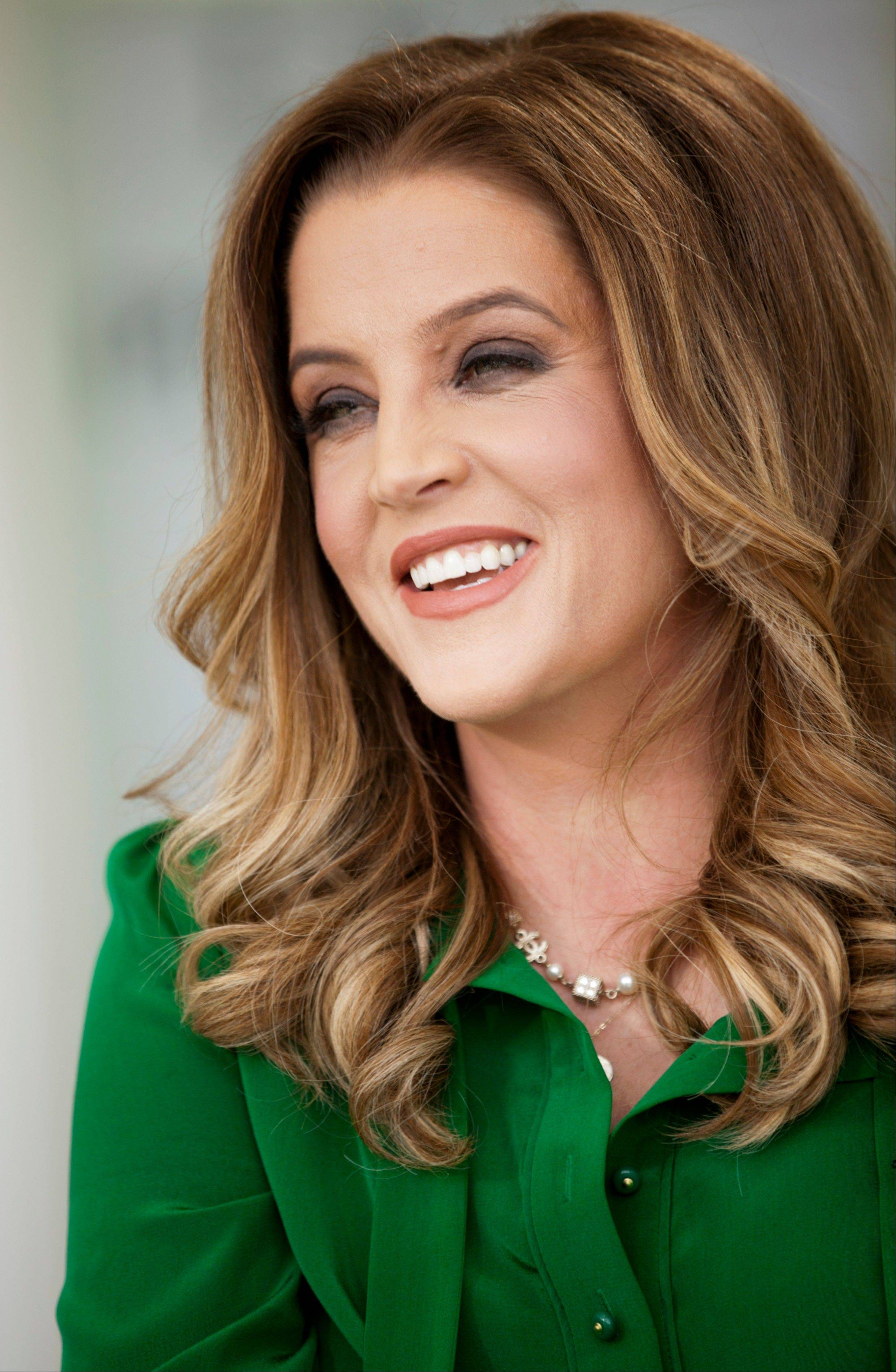Lisa Marie Presley plays the Arcada Theatre in St. Charles on Saturday, Oct. 26.